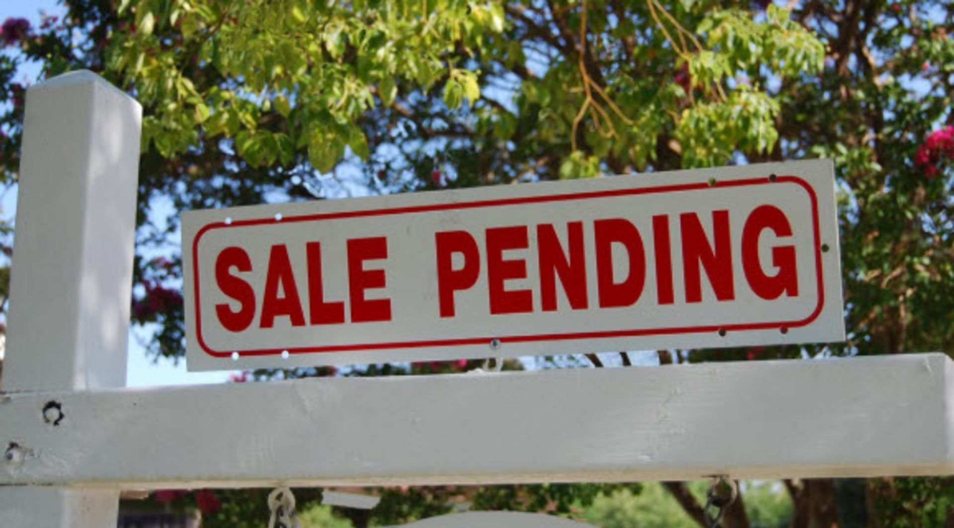 Don't be too concerned with recent drop in pending home sales