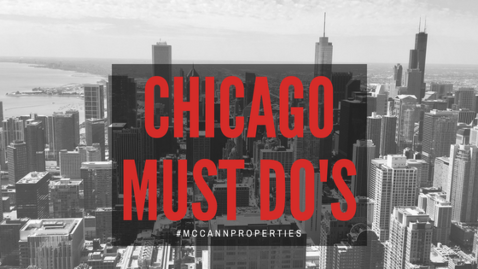 Chicago Must Do's