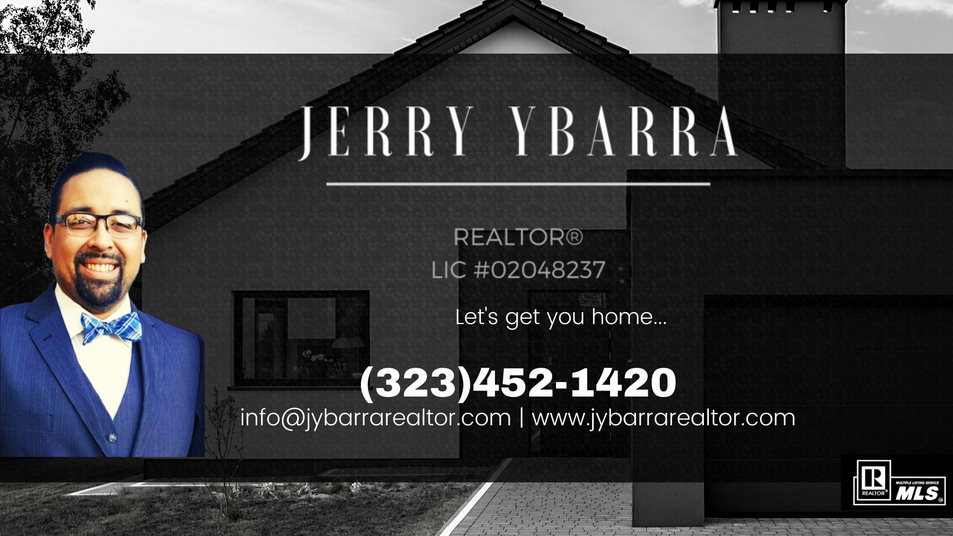 Homepage - Jerry Ybarra | REALTOR®
