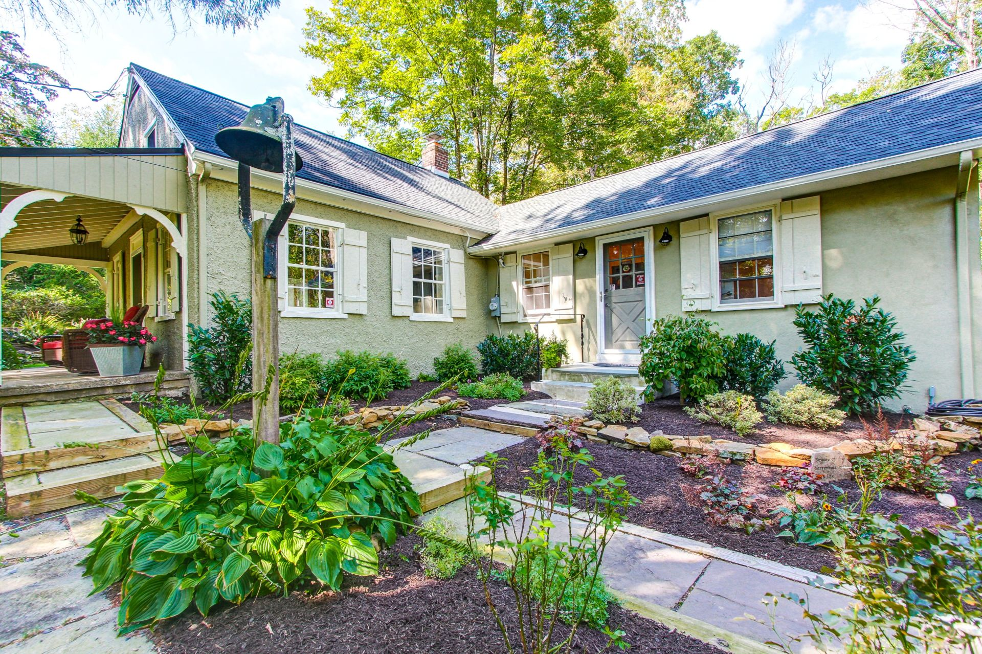 Converted One-Room Schoolhouse For Sale In Upper Bucks County!