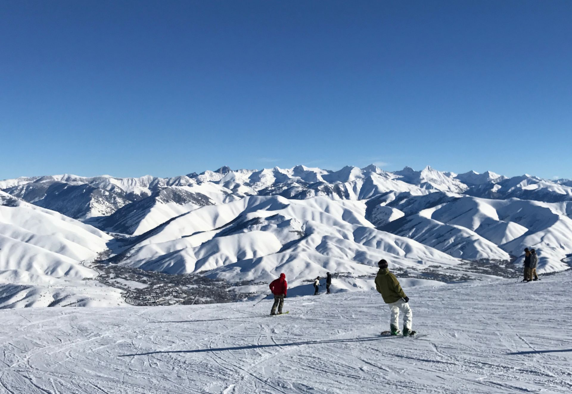 Skiing and Boarding Superb at Sun Valley