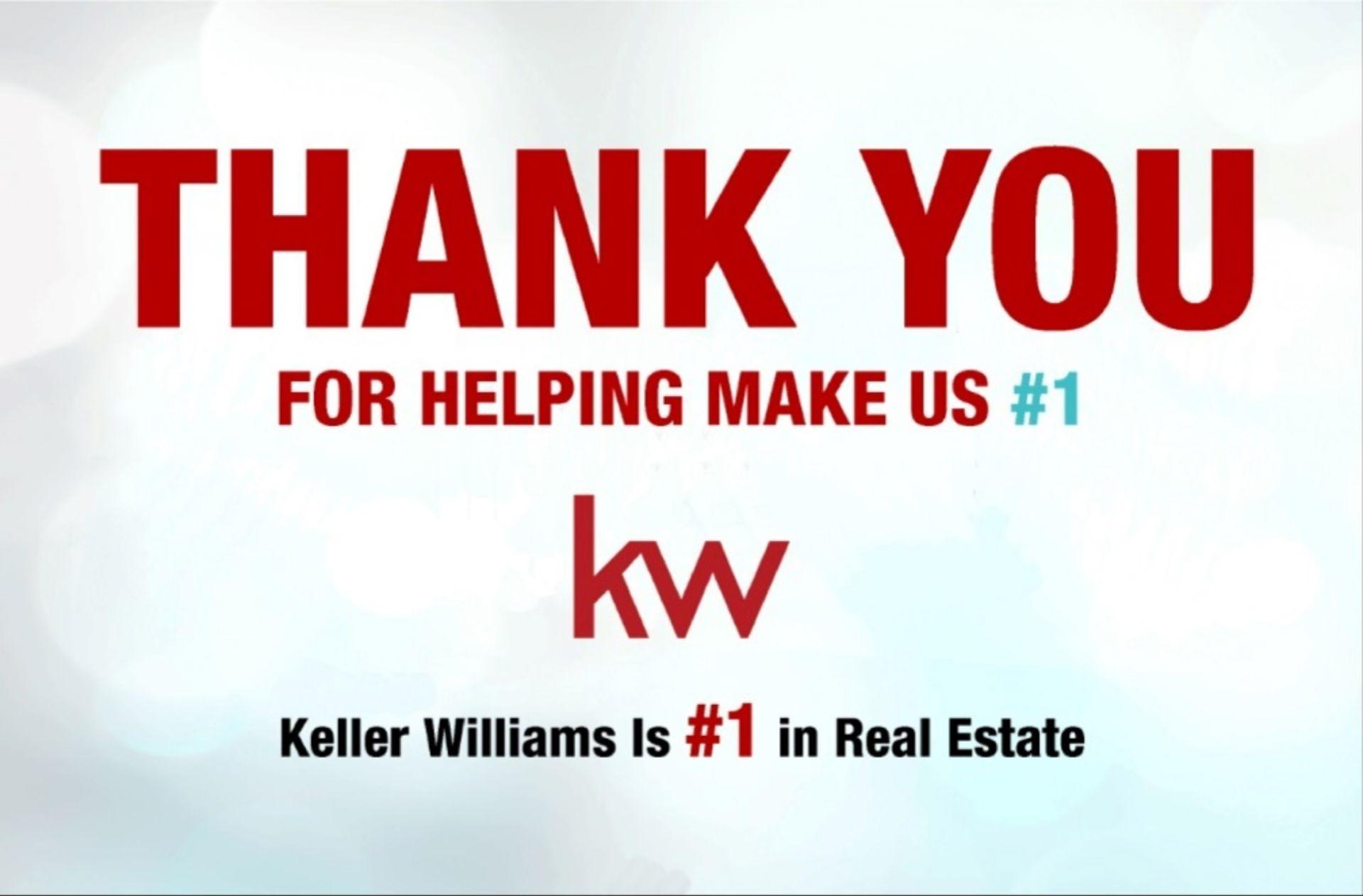 Keller Williams is #1 Real Estate Franchise in U.S.