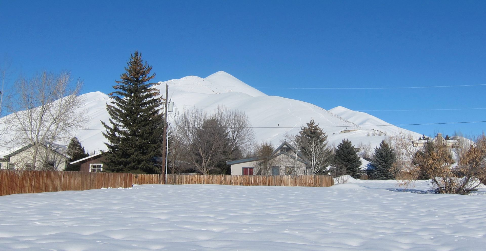 Level Lot in Historic Bellevue Townsite