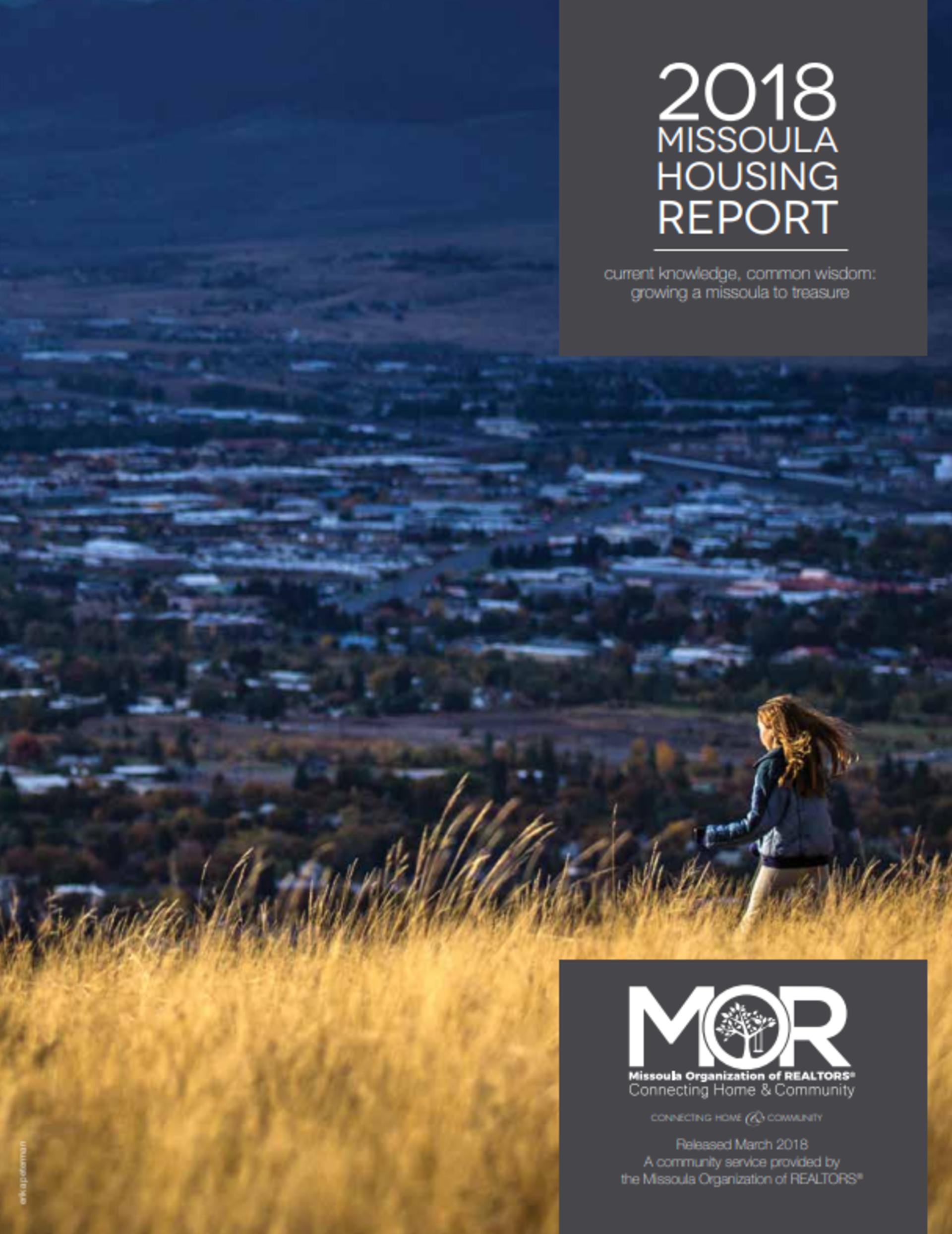 2018 Missoula Housing Report