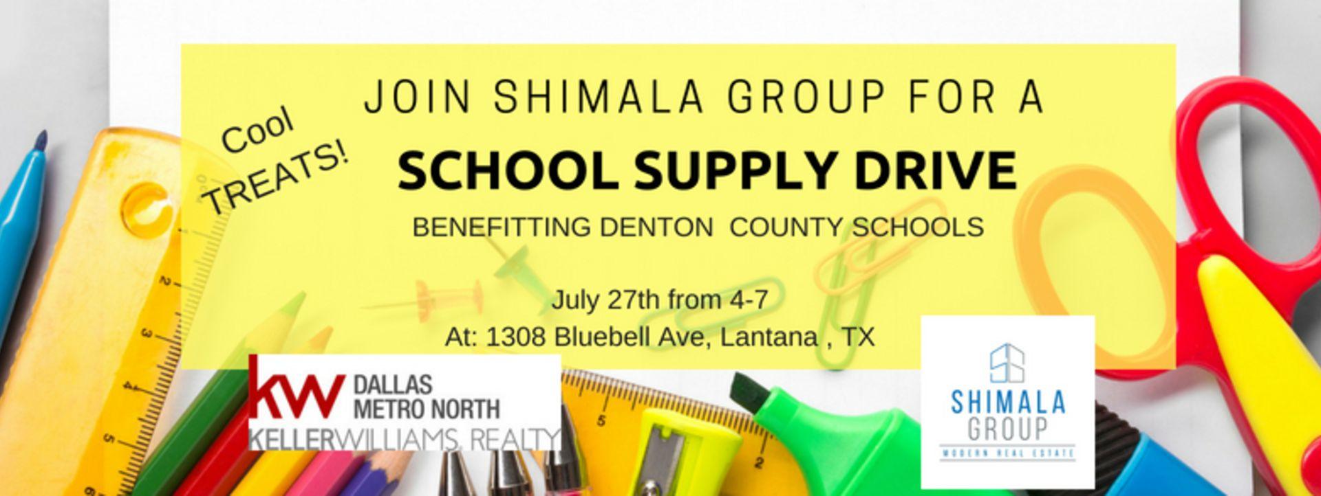 Shimala Group Back To School drive benefitting KW CARES