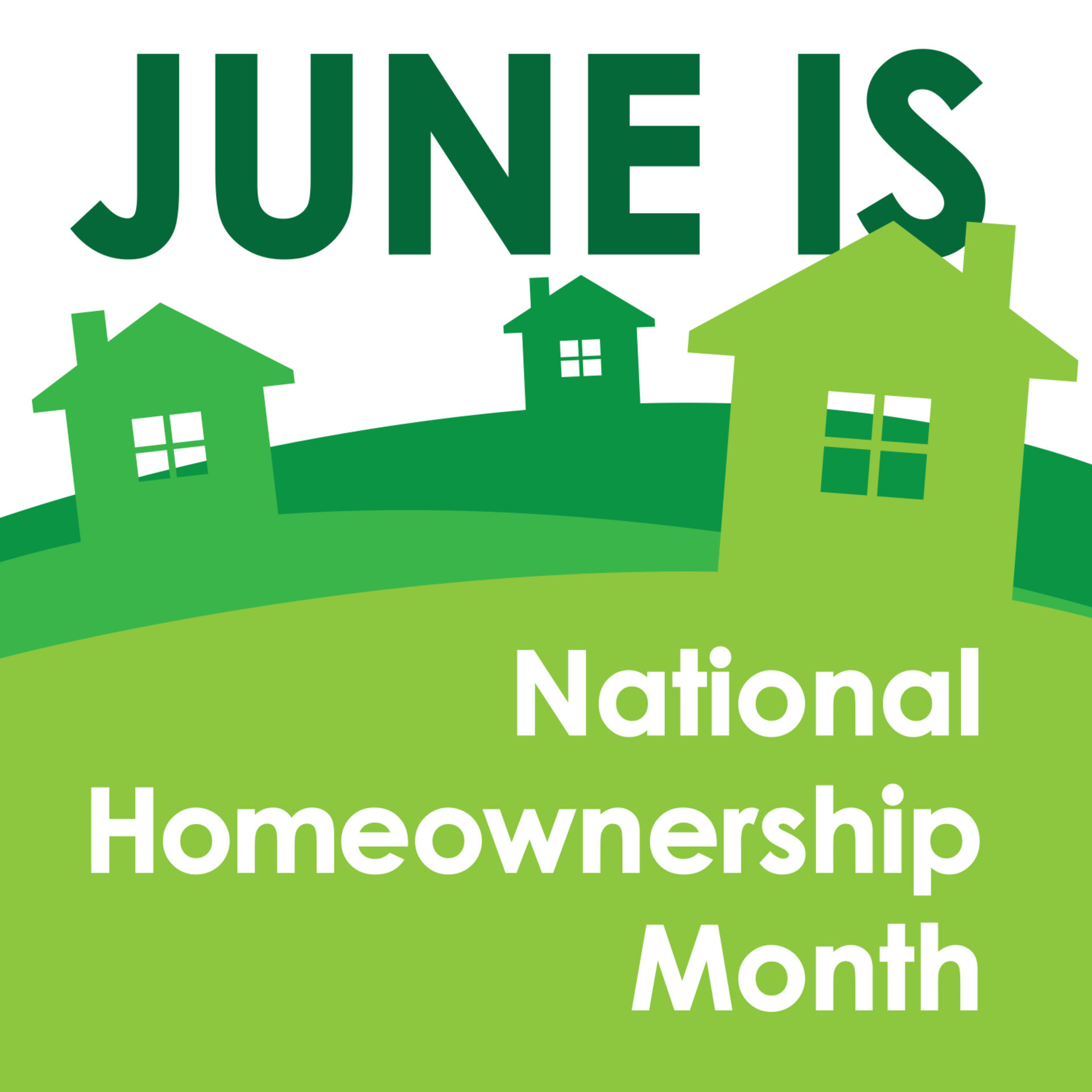 National Homeownership Month!