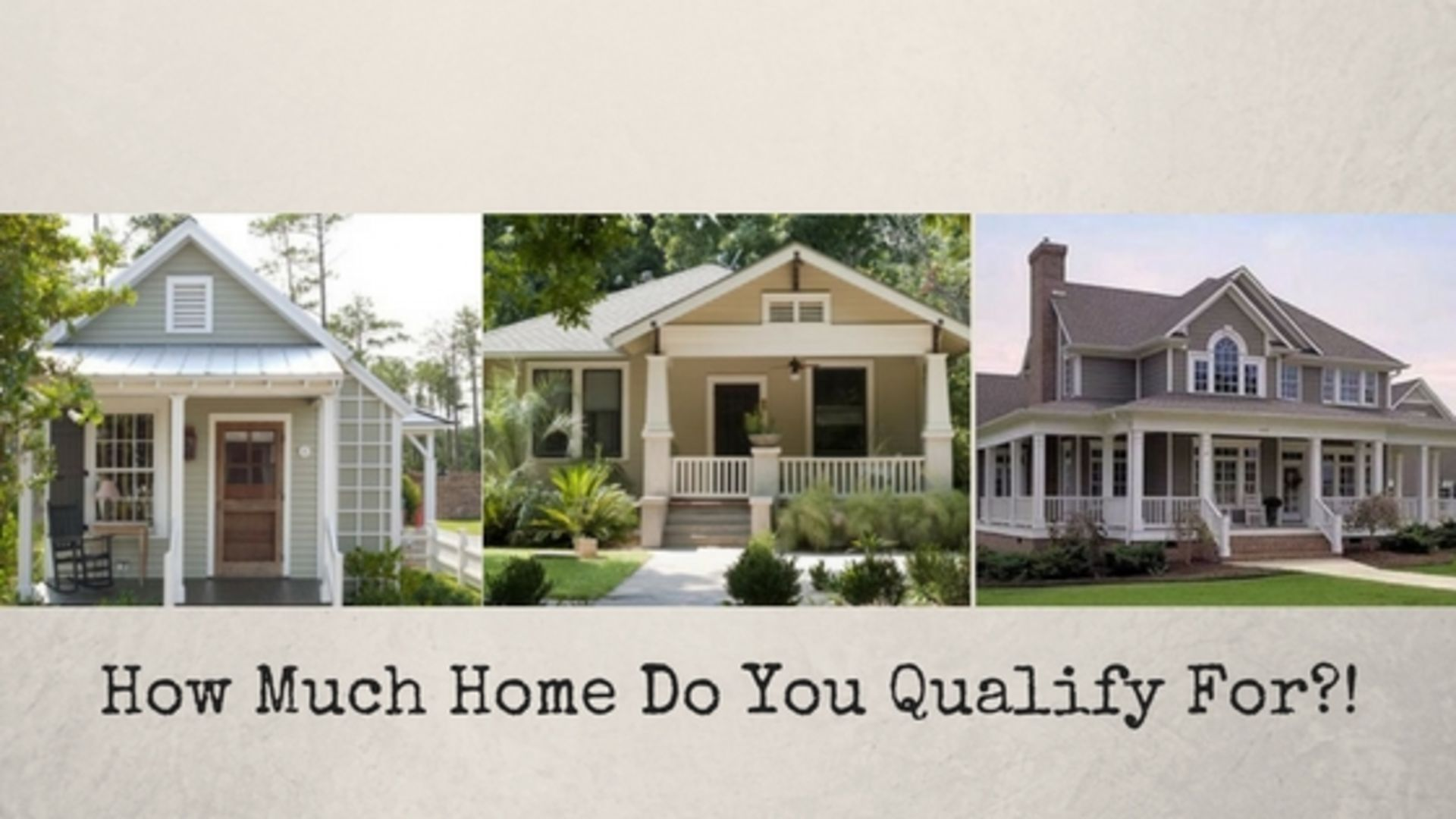 First Step to Buying a Home! – How Much Home Do You Qualify For?!