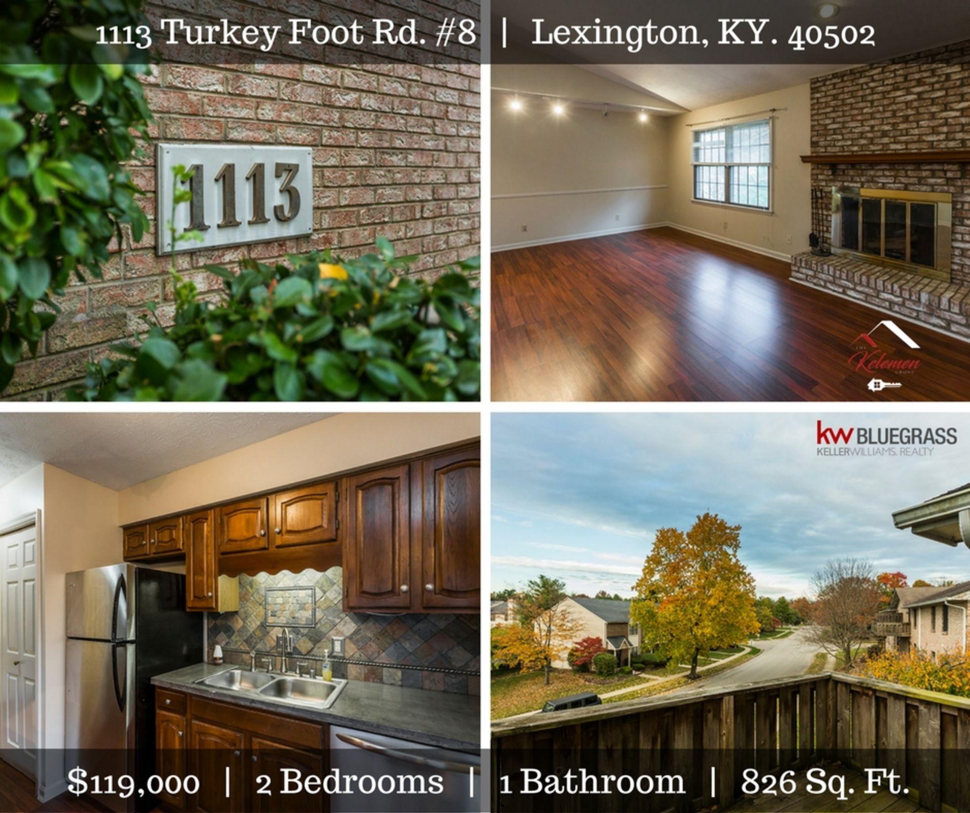 1113 Turkey Foot Rd #8 | Lexington, KY  | $119,000