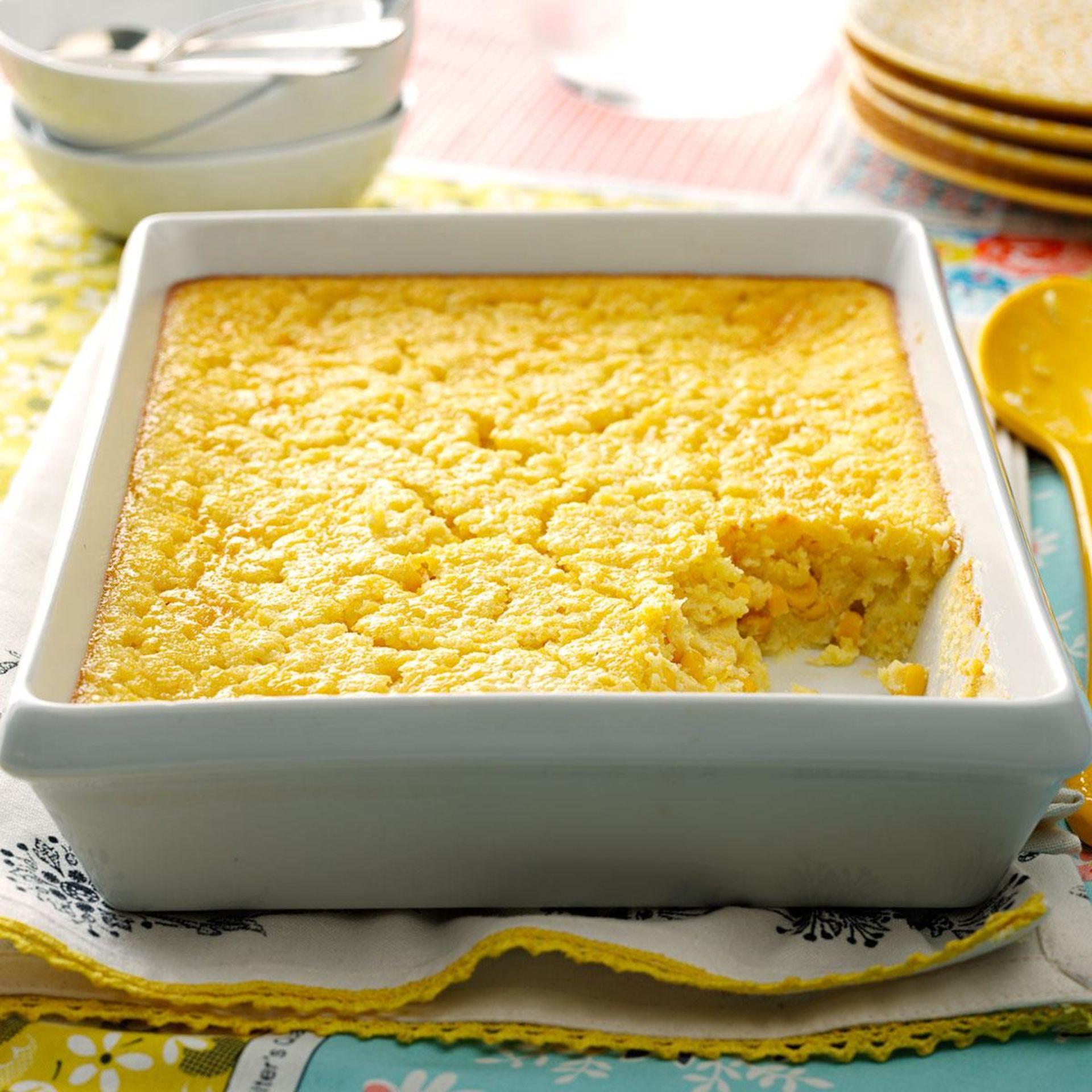 Thanksgiving Corn Pudding Recipe!