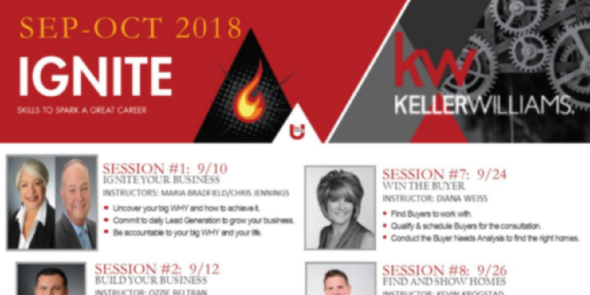 "Keller Williams Signature Course ""Ignite"" Starts September"