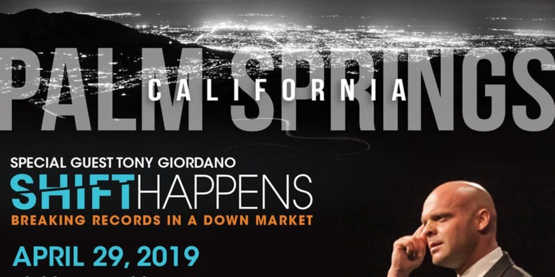 "Special Event: Tony Giordano ""Shift Happens – Breaking Records in a Down Market"""