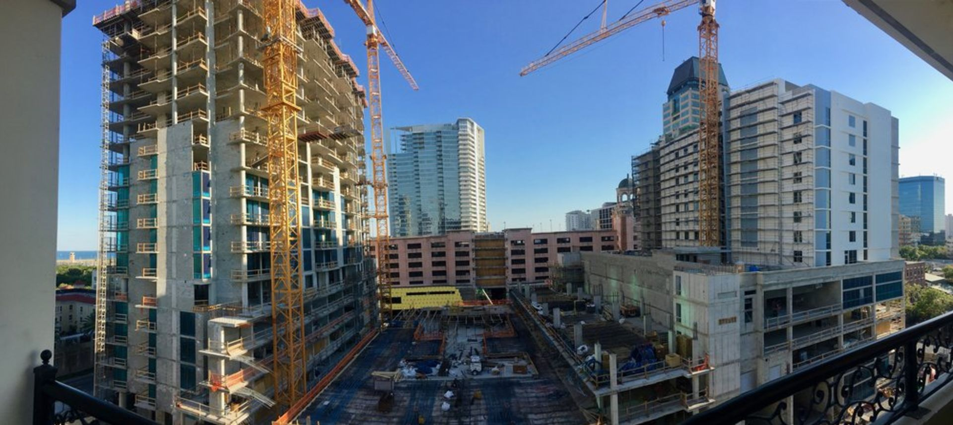 Cranes Cranes, Everywhere Cranes: What's With all the Construction?