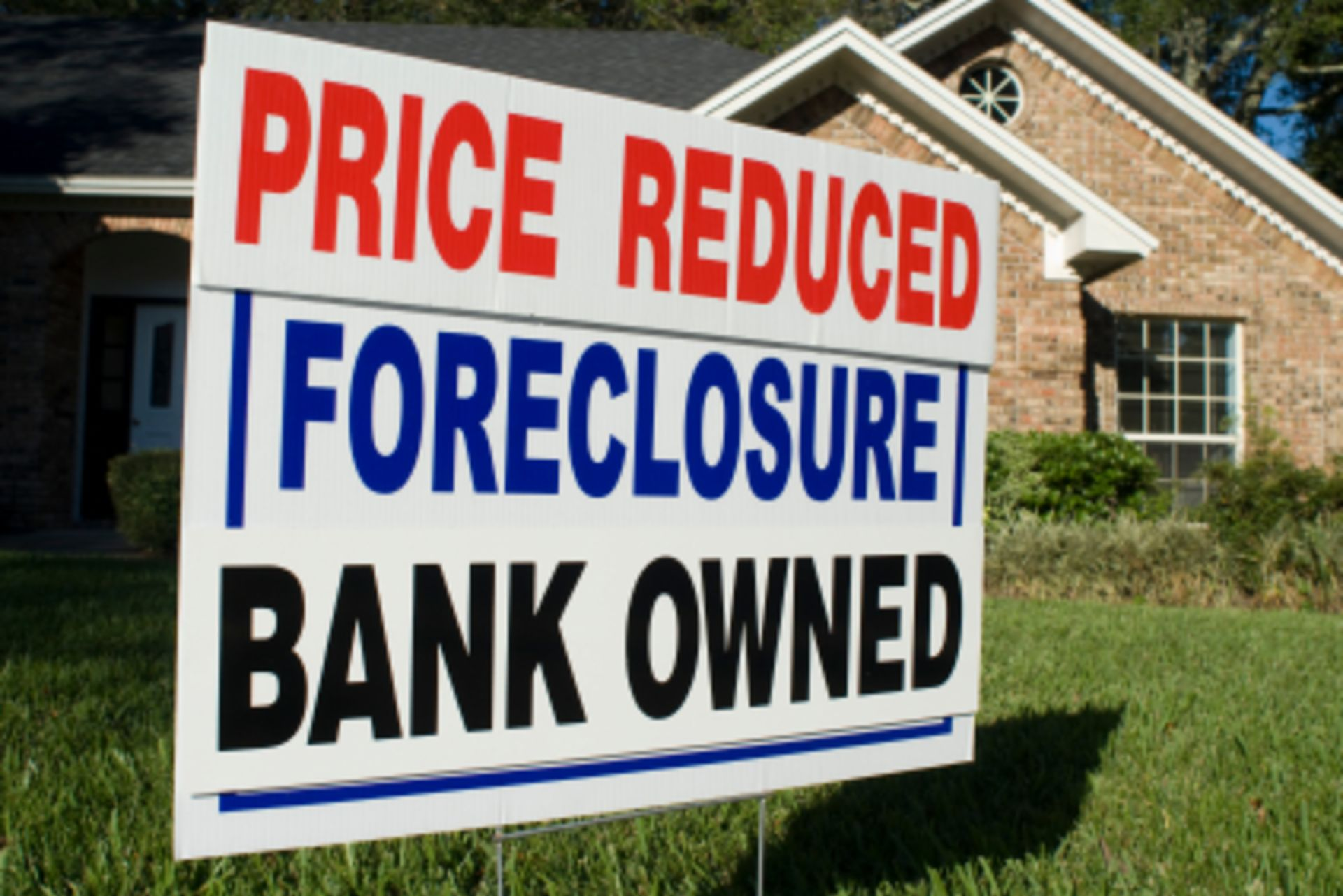 Foreclosures hit a 12-year low