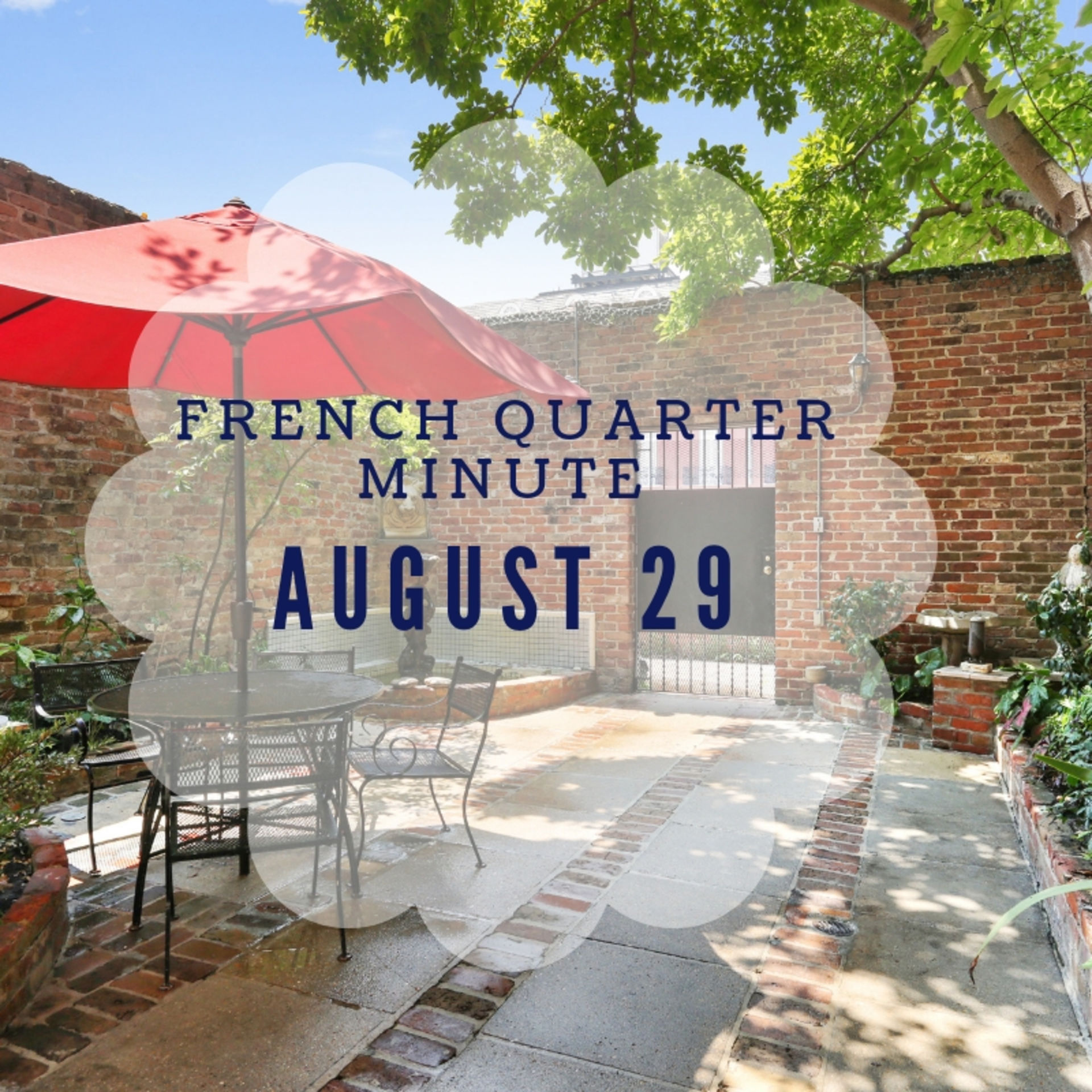 French Quarter Minute with Sam Poche – August 29, 2018