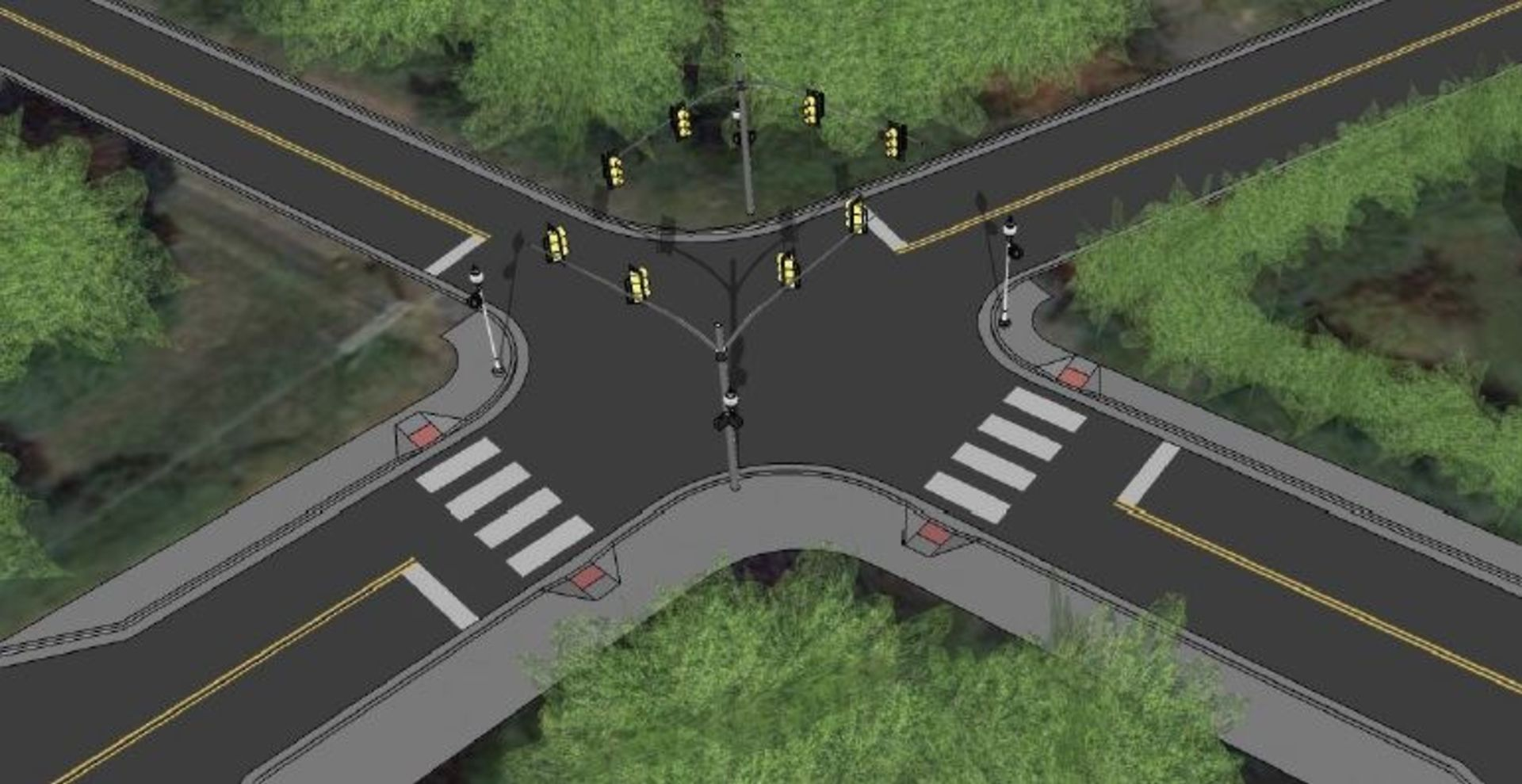 Crosswalk and Sidewalk Improvements at Great Falls & N. West Set to Begin This Summer… Or Sooner!