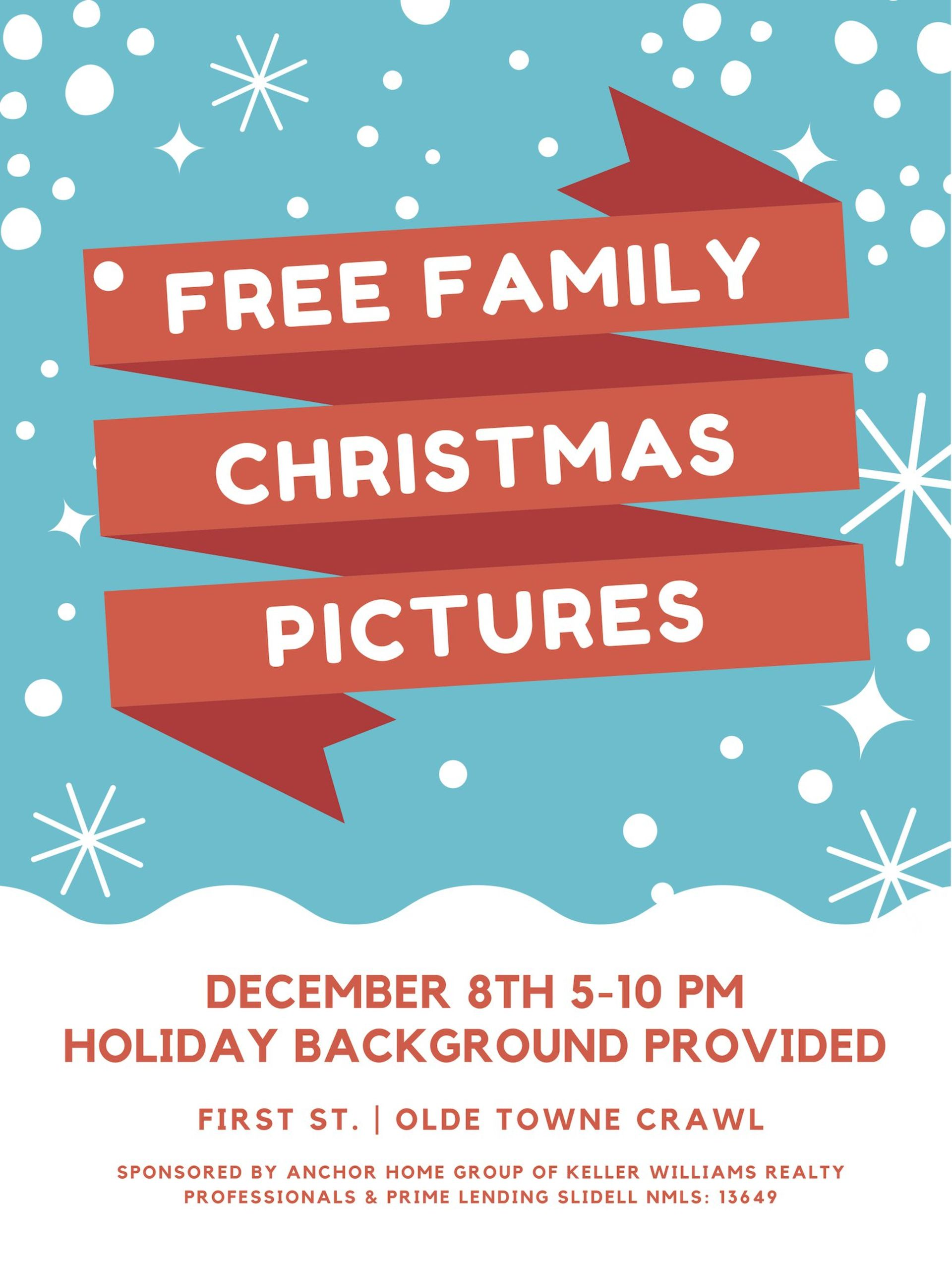 Free Christmas Family Photos in Slidell