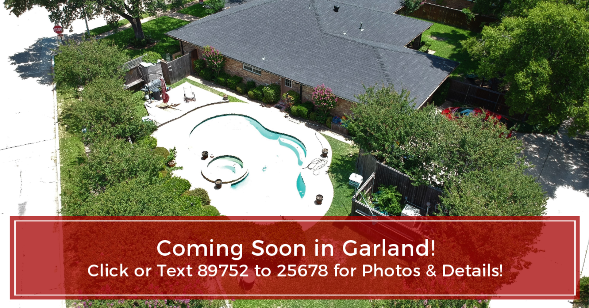 Coming Soon in Garland, 3-Bed, 2-Bath, 2 Backyards, Pool & Spa!