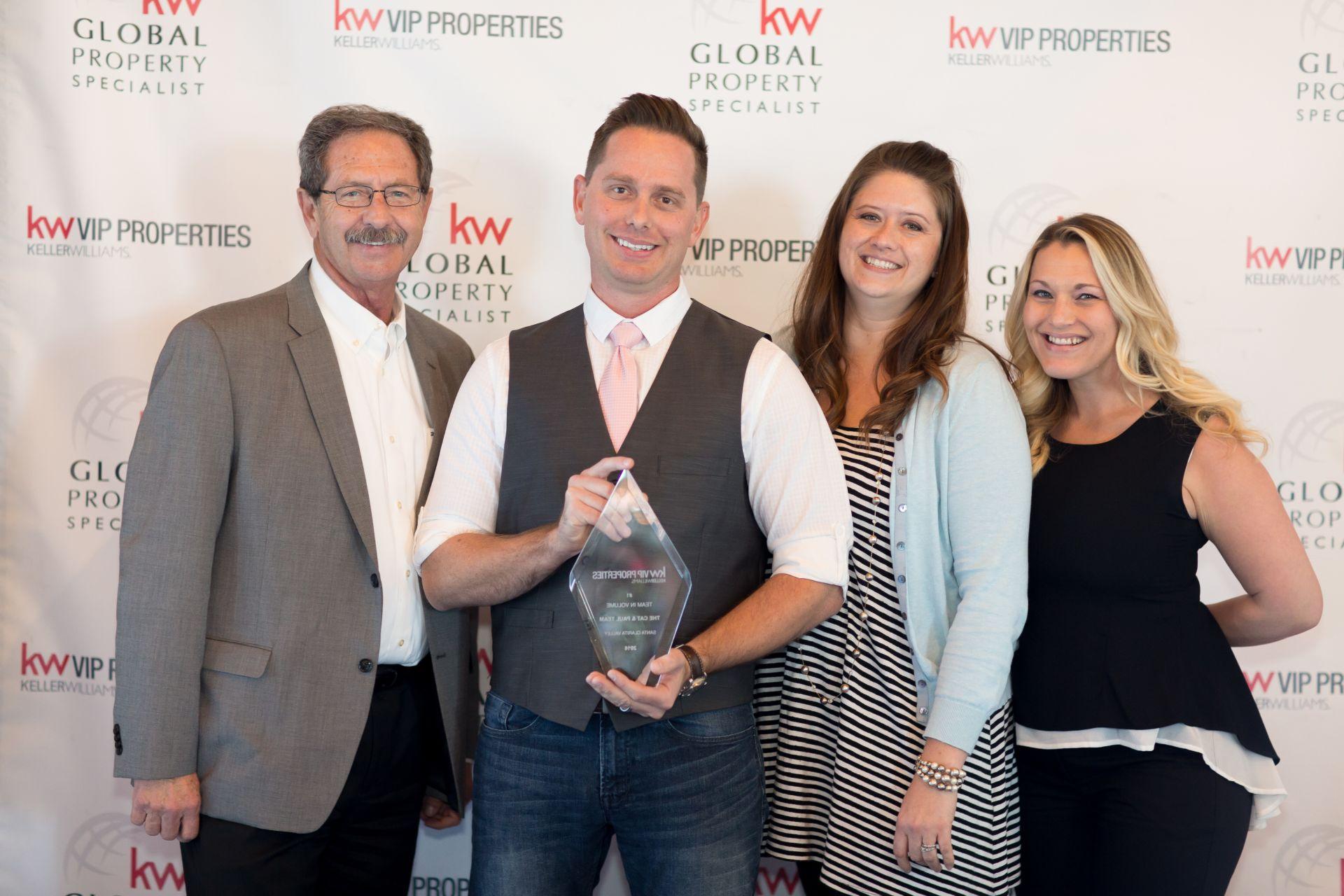 Santa Clarita Top Real Estate Agents Awarded for 2016 Sales