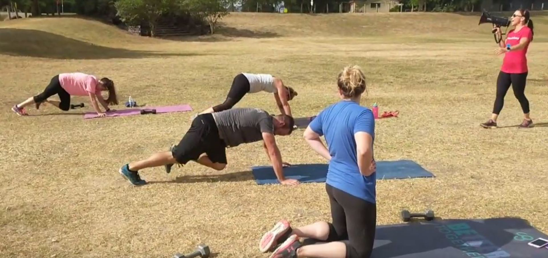Buda City Park Boot Camp – Camp Gladiator – Trainer Marla Blanck Favors