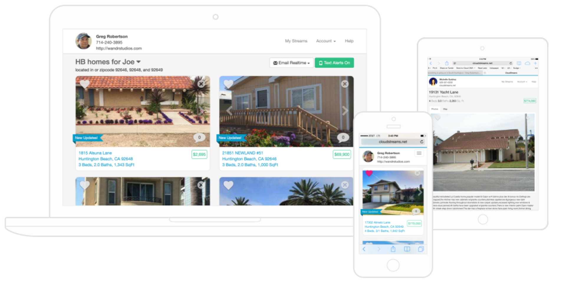 Be Notified of New Listings