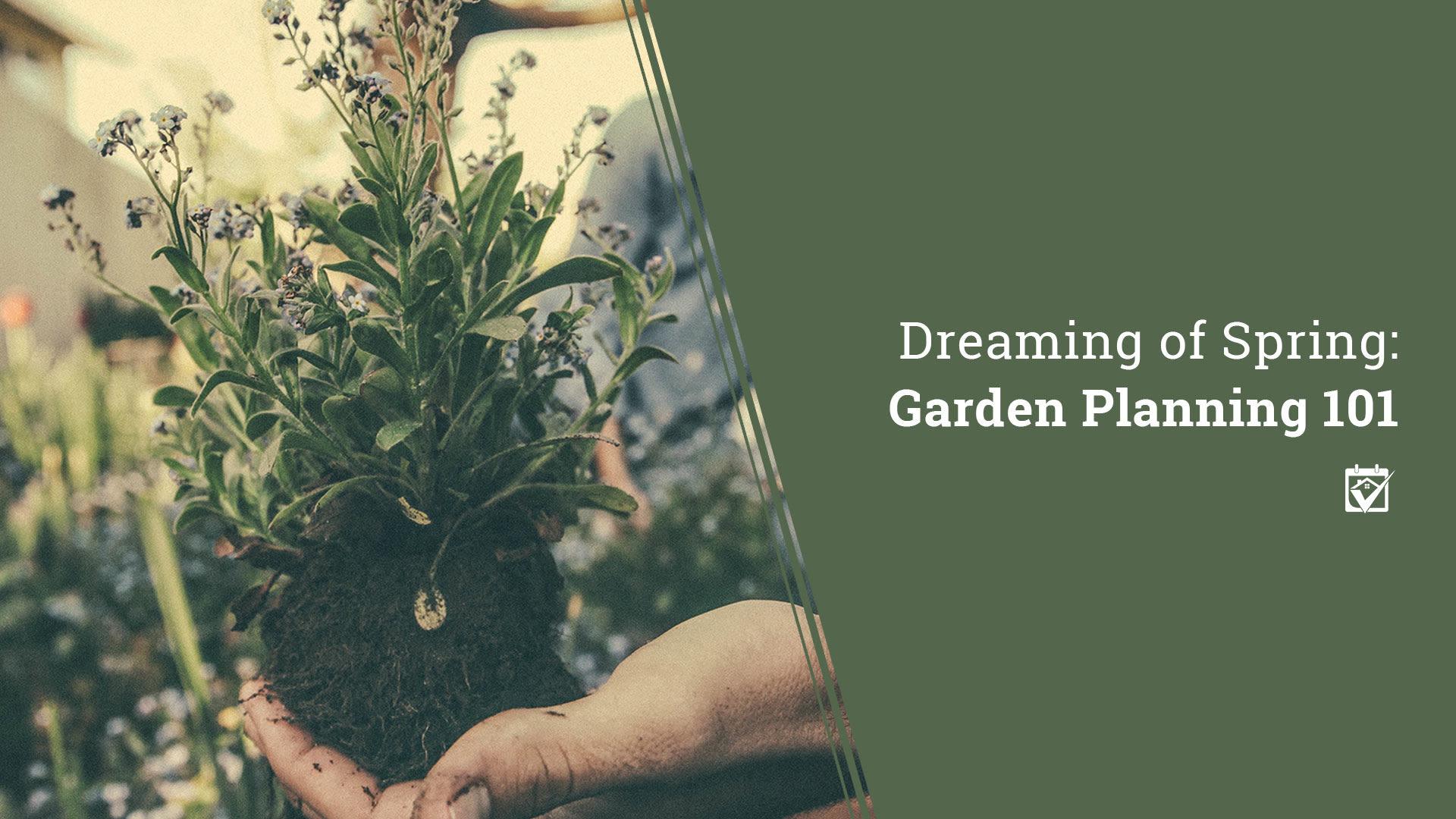 Dreaming of Spring: Garden Planning 101