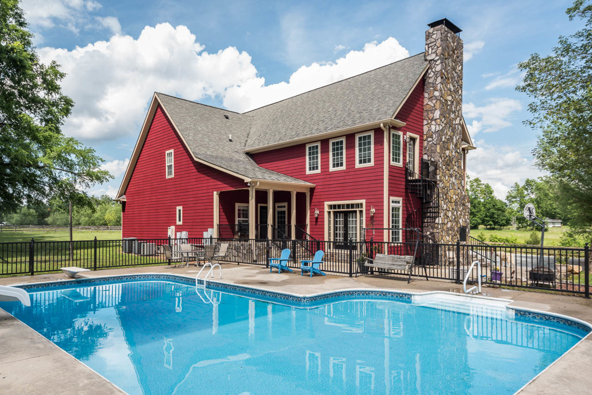 Beautiful, Spacious Home on 14.2 Acres of Horse Ready Property