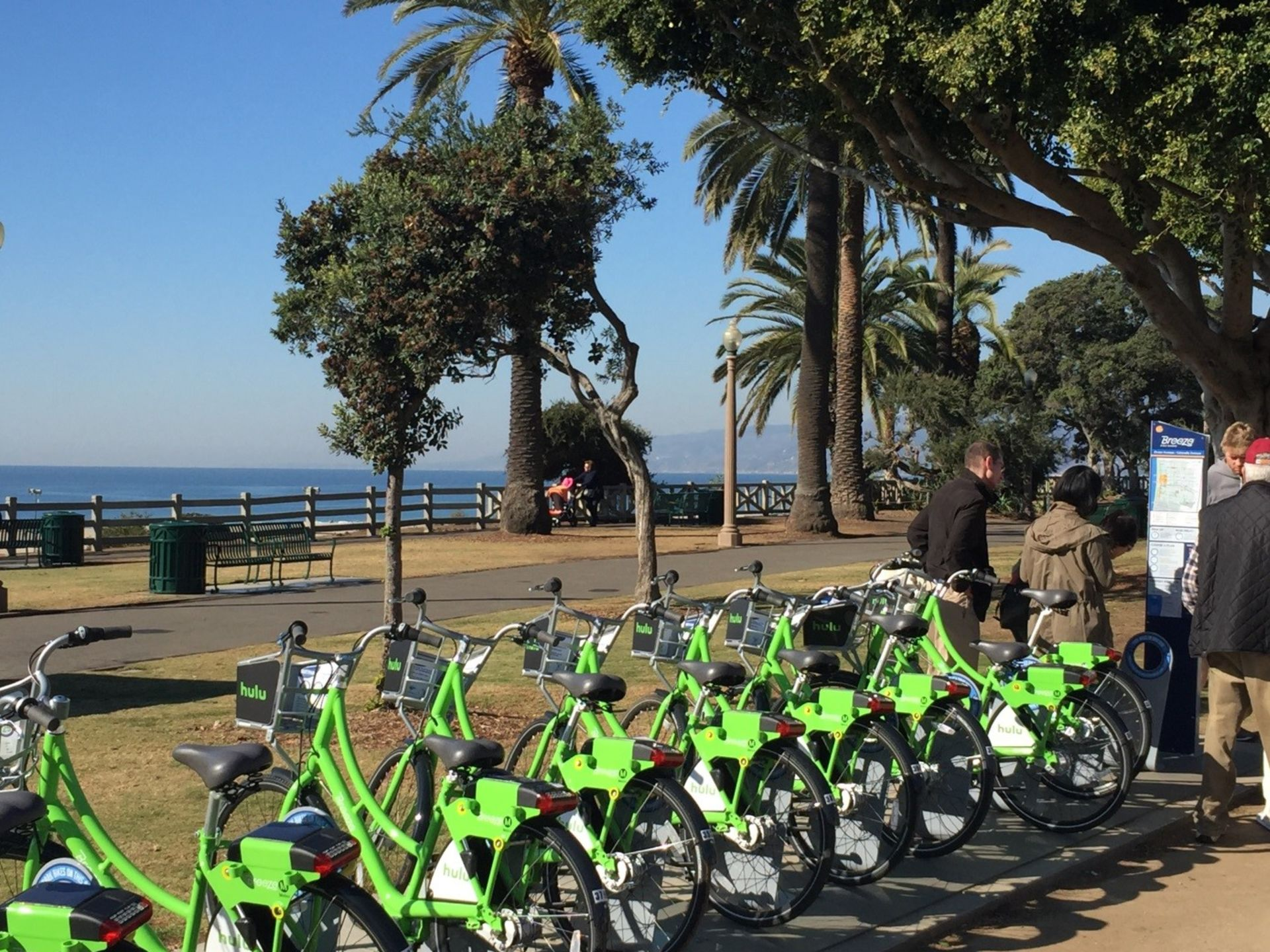 I've tried the Santa Monica Breeze bikeshare…and it's AWESOME.