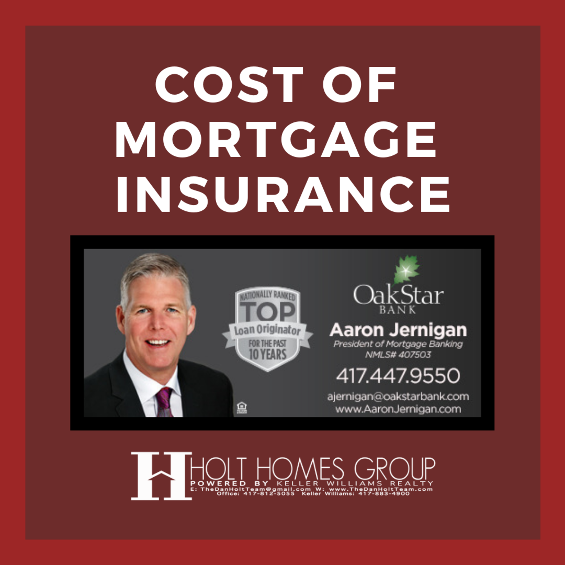 Mortgage Insurance Costs