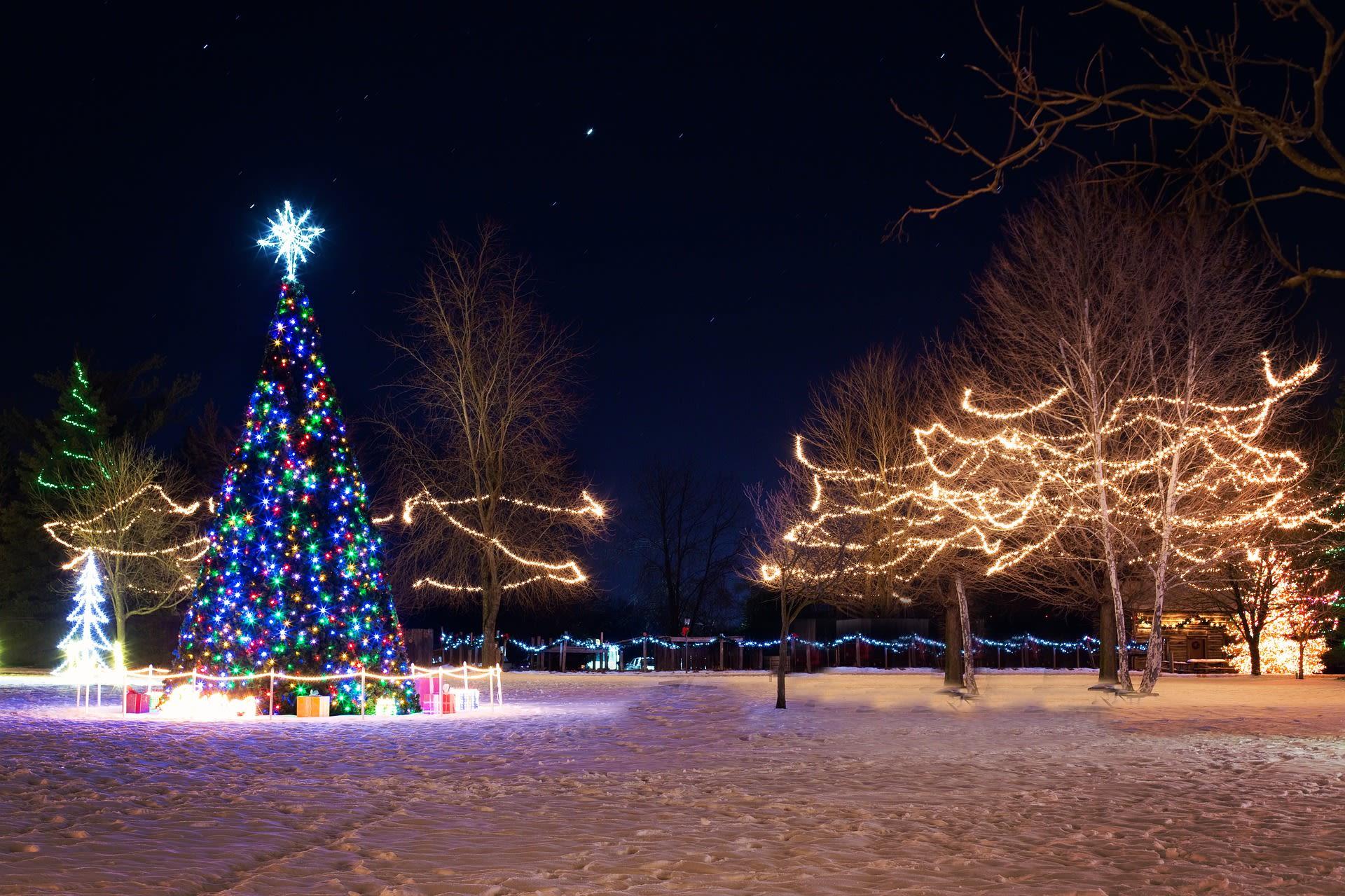 Christmas Tree Lightings & Festivals around Louisville!