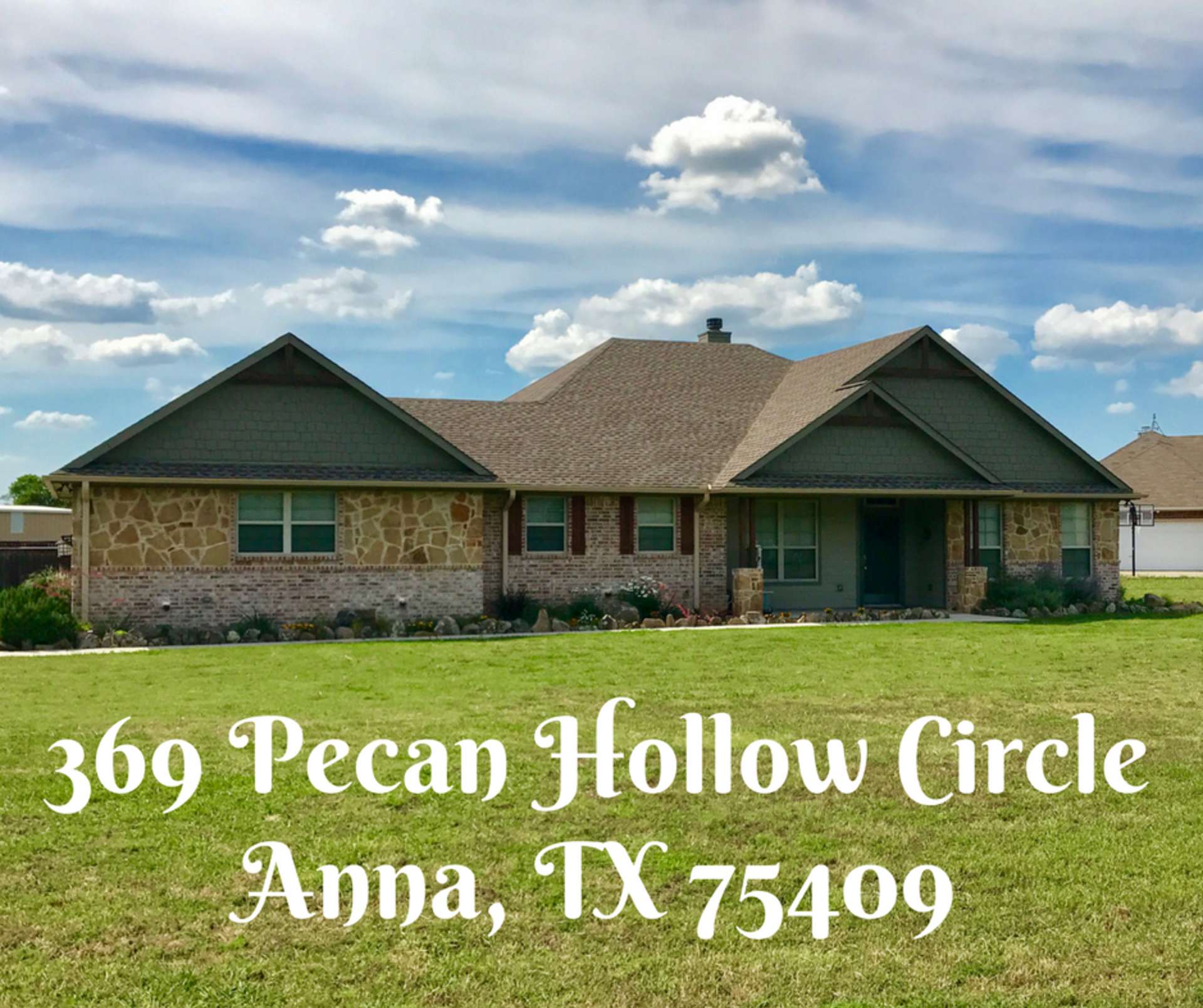 Tour 369 Pecan Hollow Circle in Anna! Video in link!