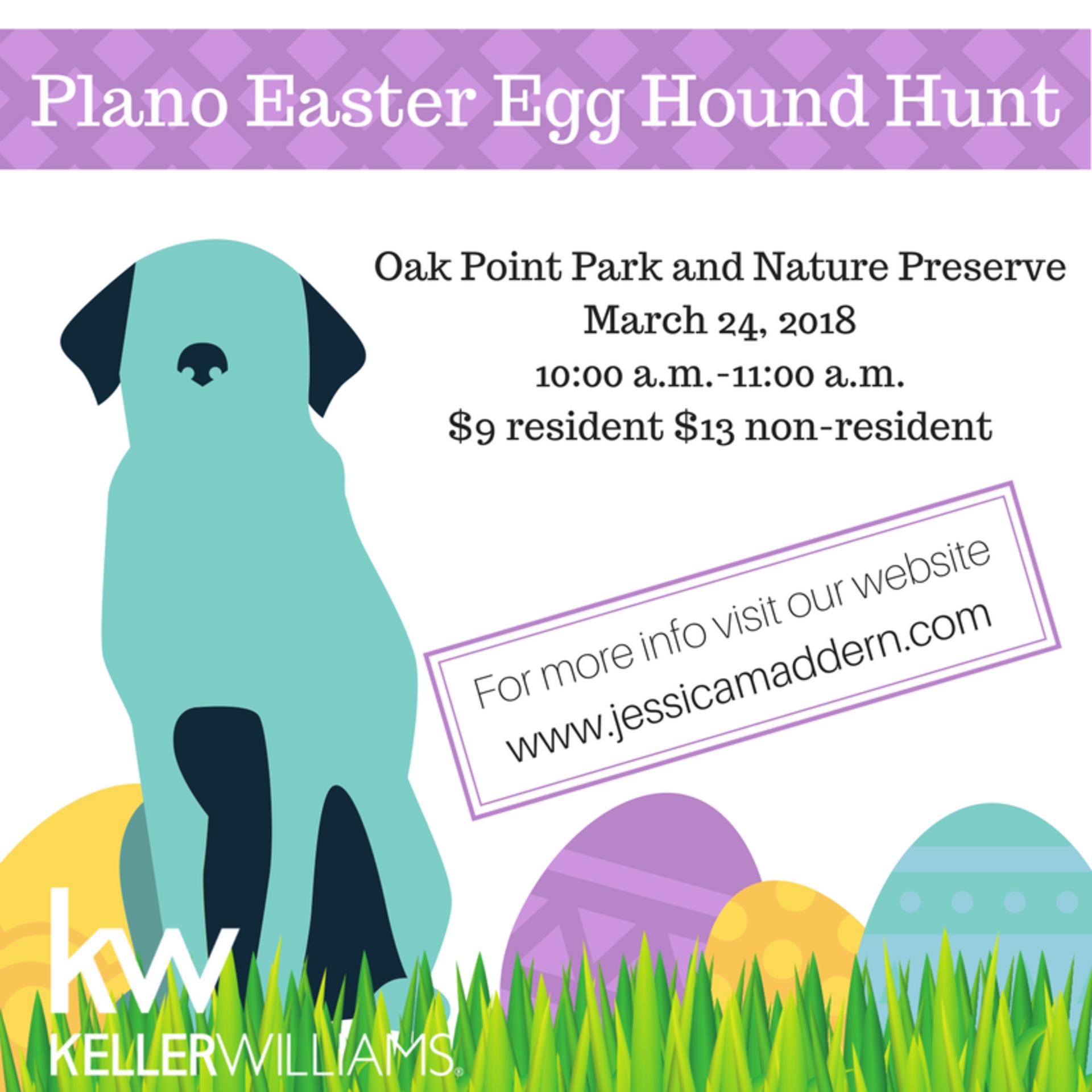 Plano Easter Egg Hound Hunt