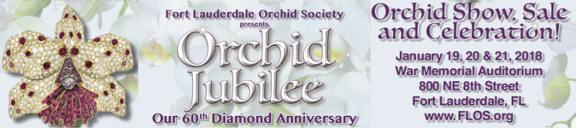 Orchid Jubilee- The Fort Lauderdale Orchid Show