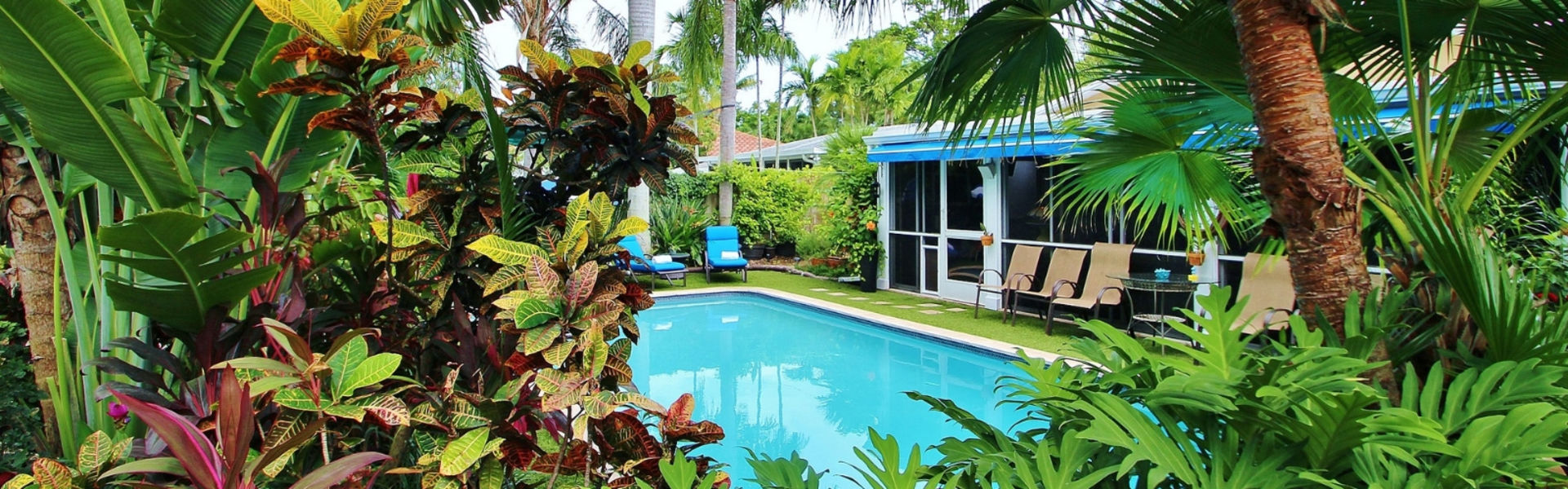 POINSETTIA HEIGHTS , 3 BED /2 BATH, TROPICAL PARADISE POOL HOME FOR SALE