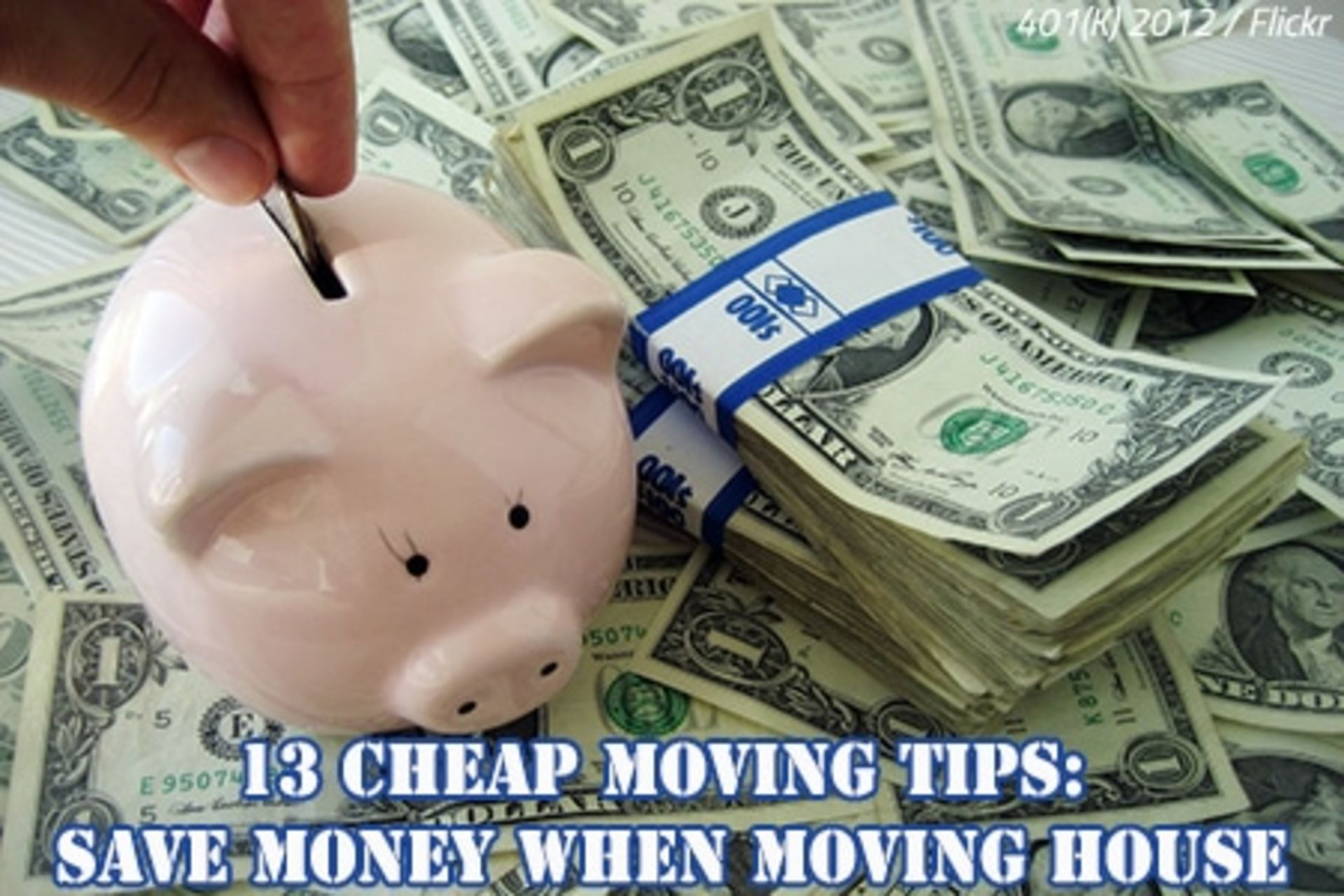 13 Cheap Moving Tips: Save Money When Moving House