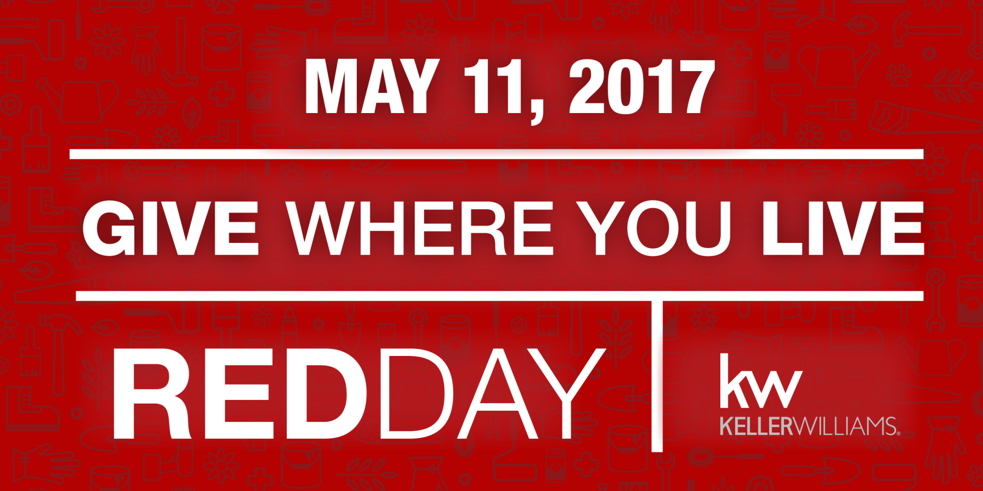 Red Day 2017 – Give Where You Live
