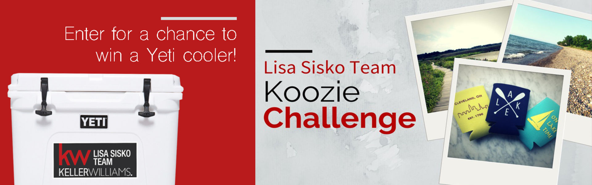 Lisa Sisko Team Koozie Challenge