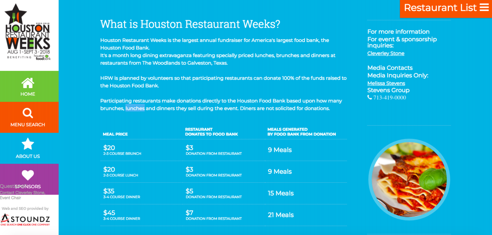 #MondayMinute: Houston Restaurant Weeks