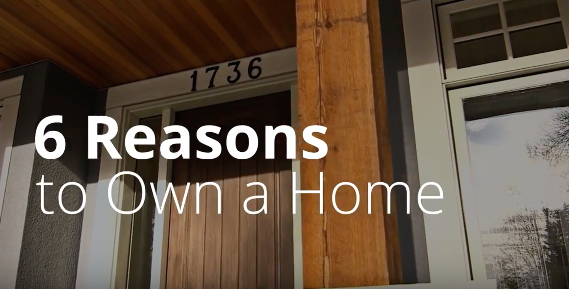 #MondayMinute: 6 Reasons to own a home