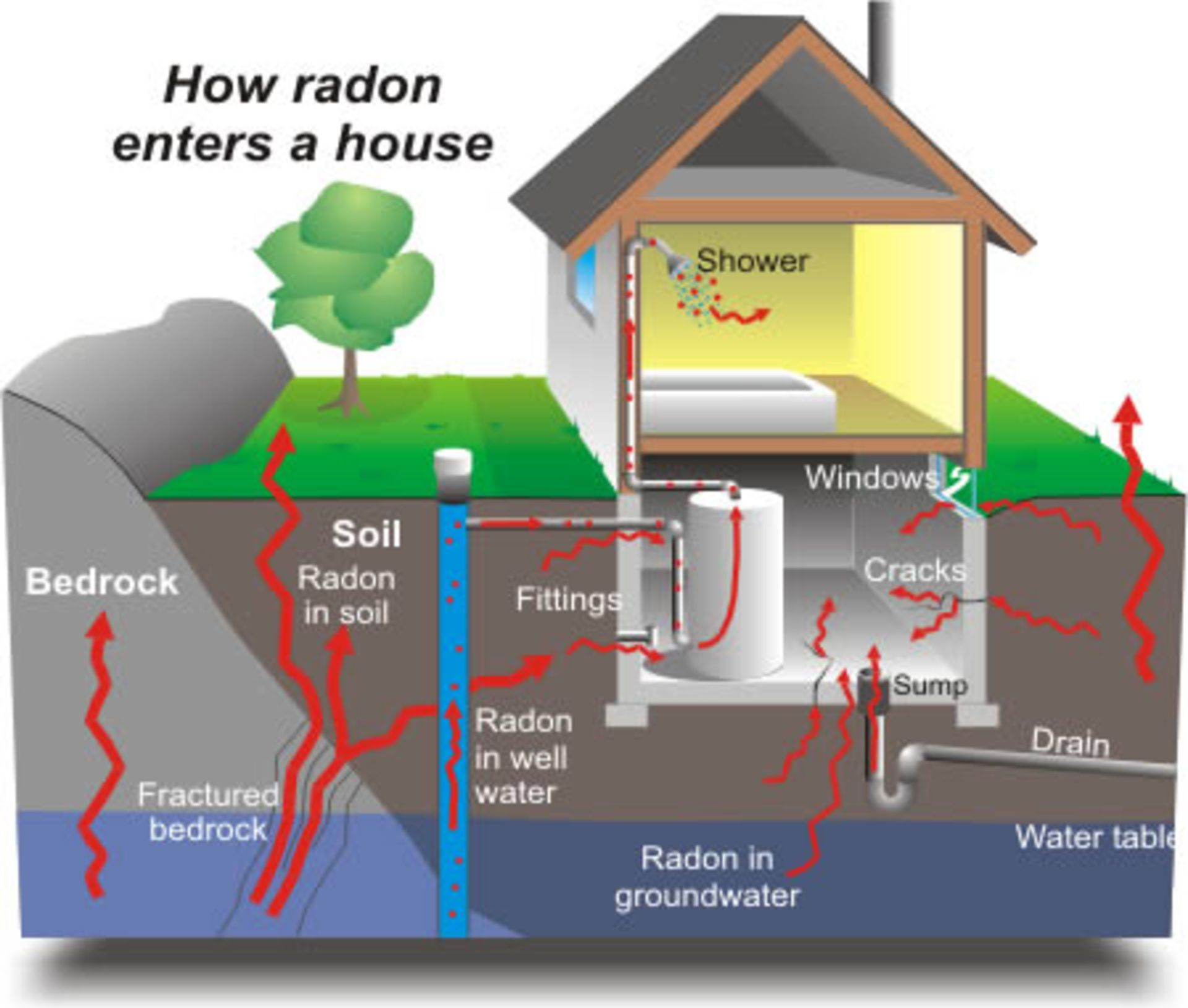 Radon Testing Requirements In Montgomery County