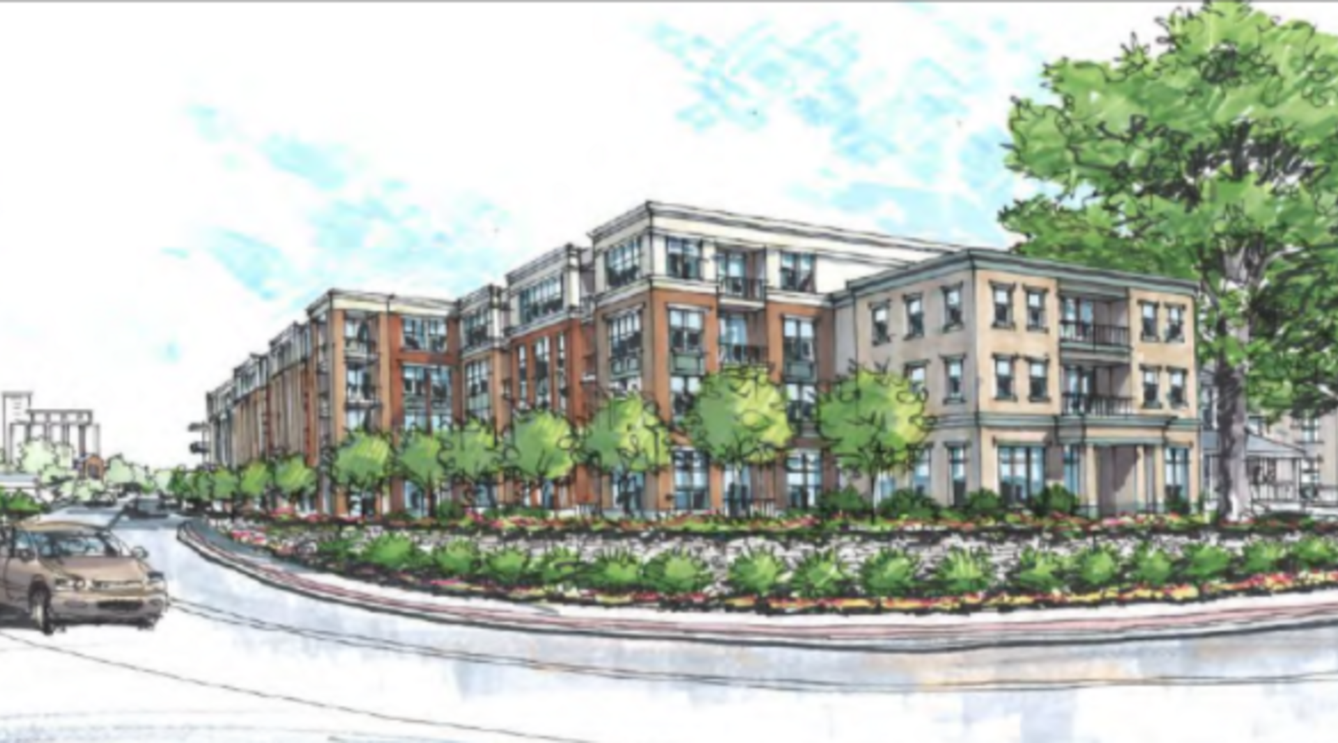 Huge downtown Franklin project lands high-end Hilton