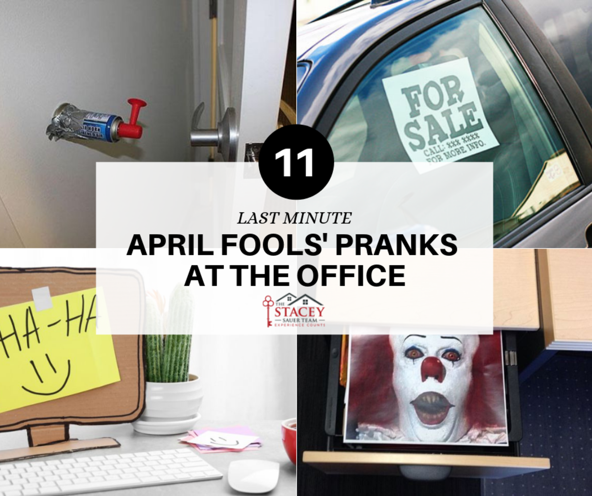 11 Last-Minute April Fools' Pranks at the Office