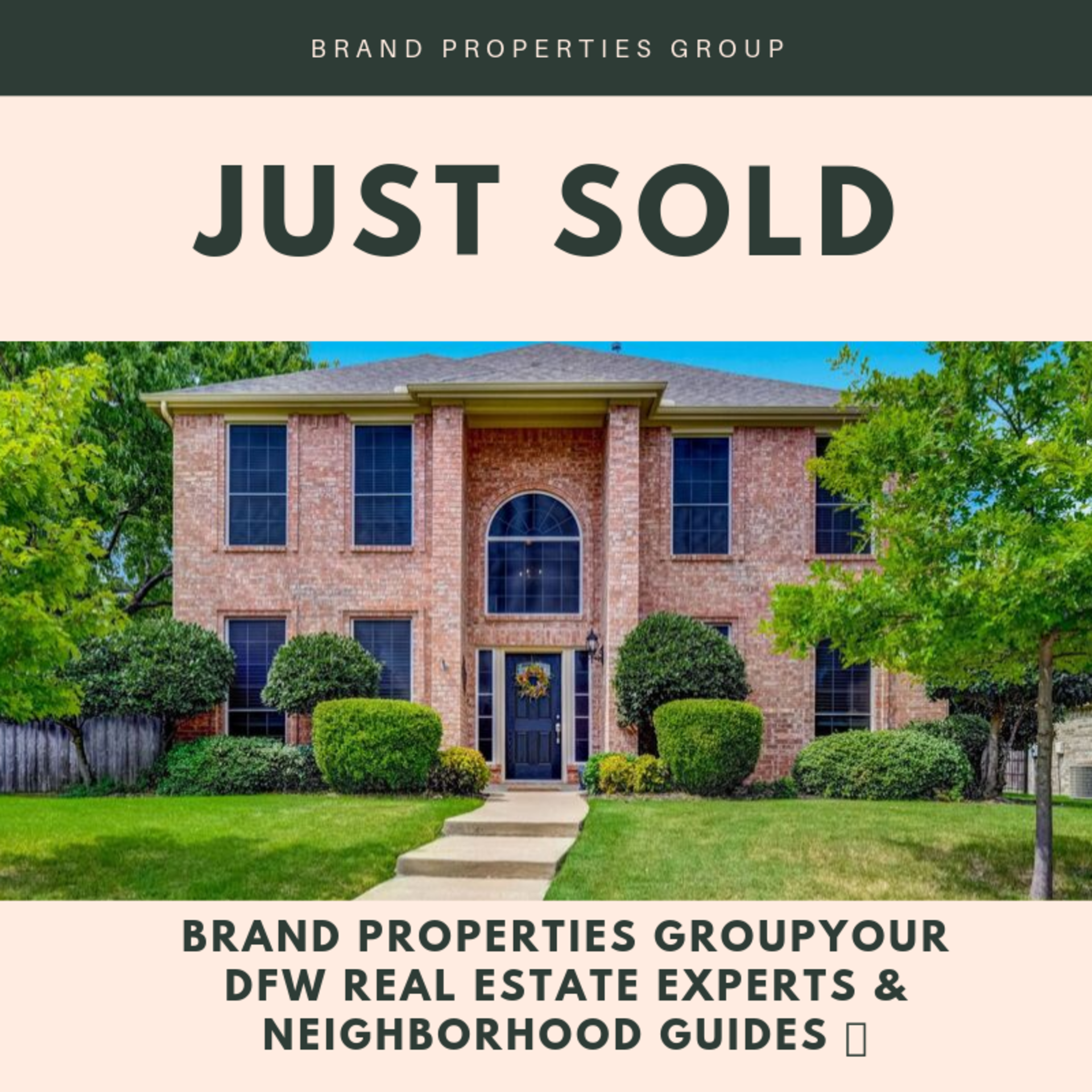 Another Brand Properties Group home SOLD!