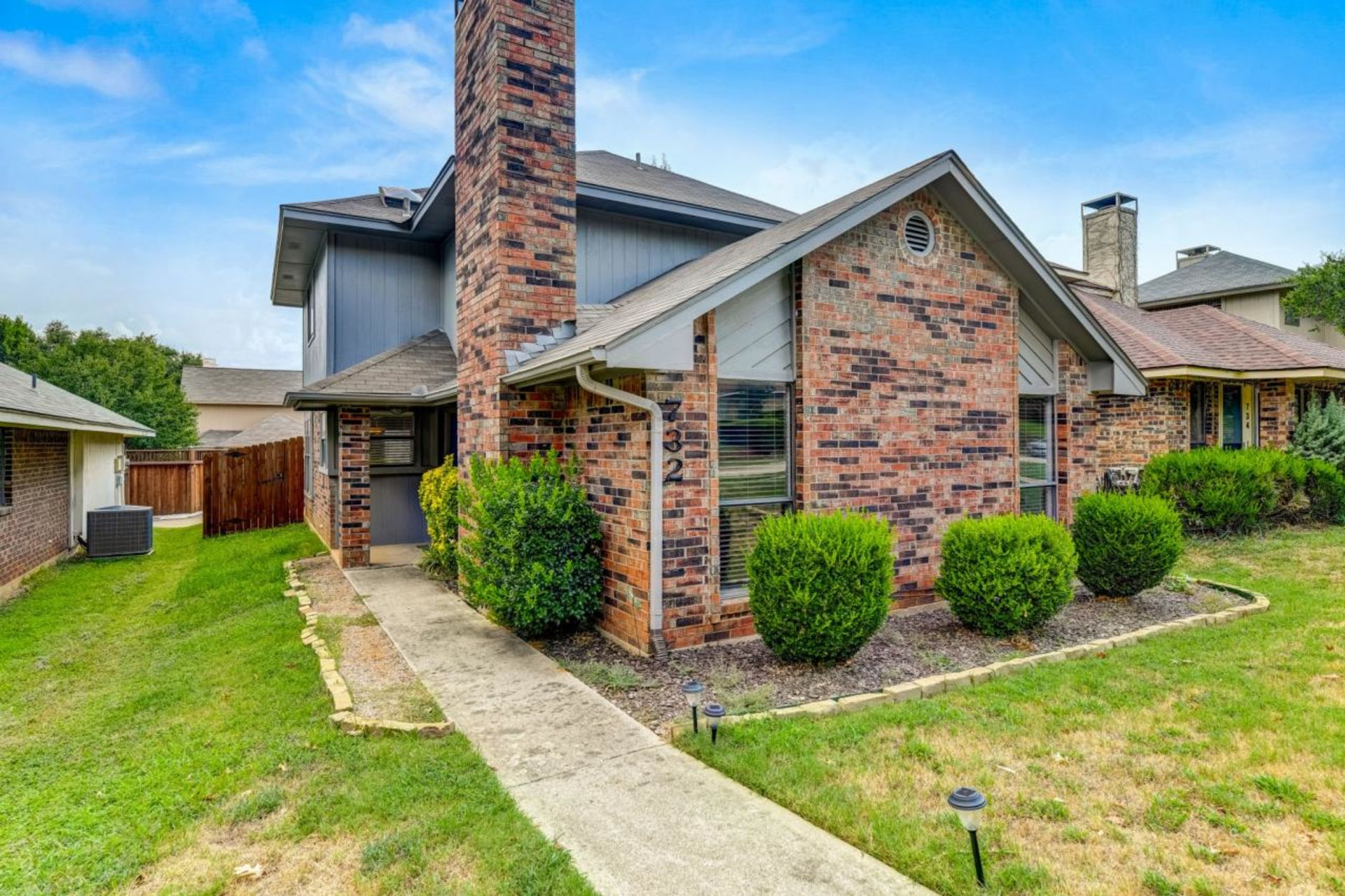 Open House For This Charming, Lewisville Texas Home For Sale. Located at: 732 Red Oak Drive, Lewisville