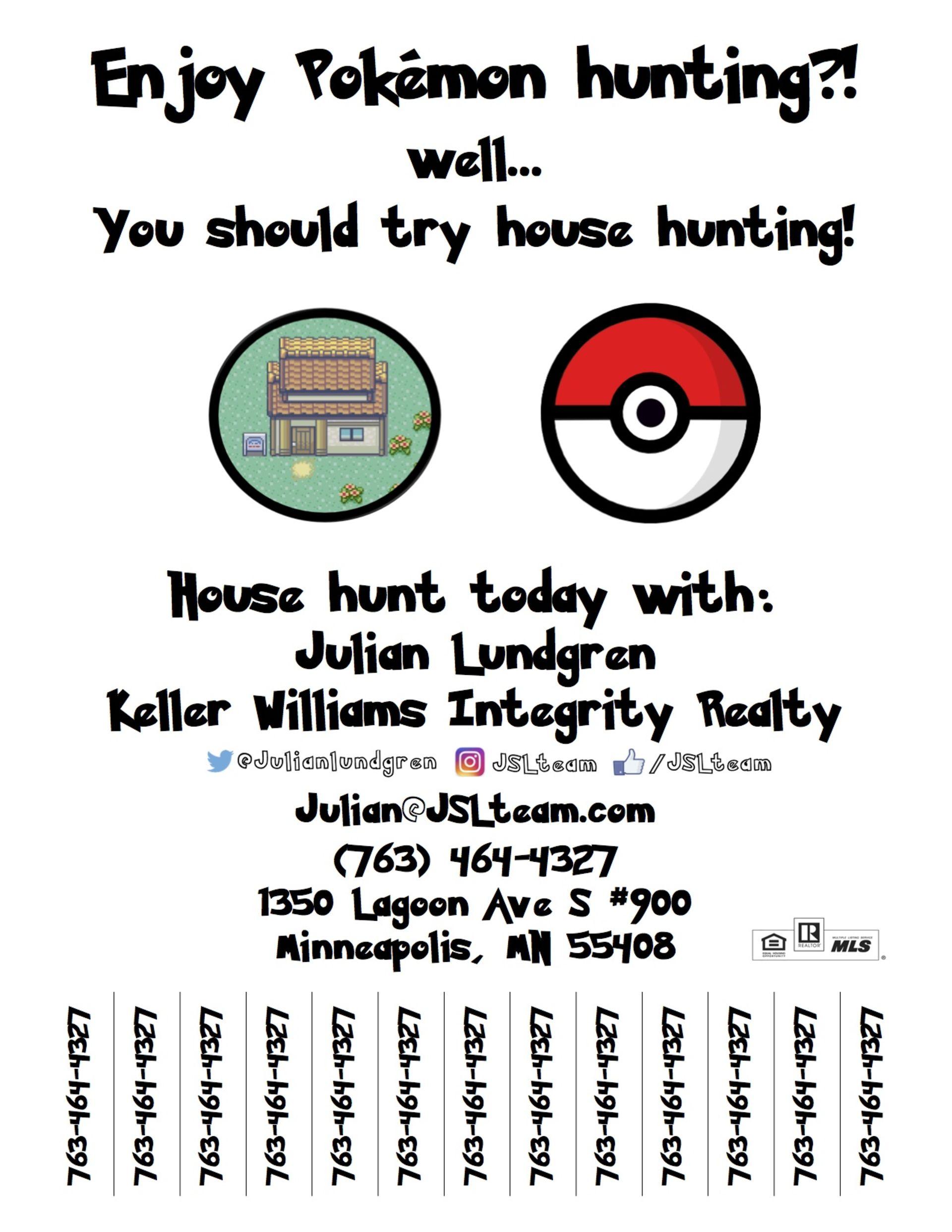 PokemonGo and Real Estate Meet
