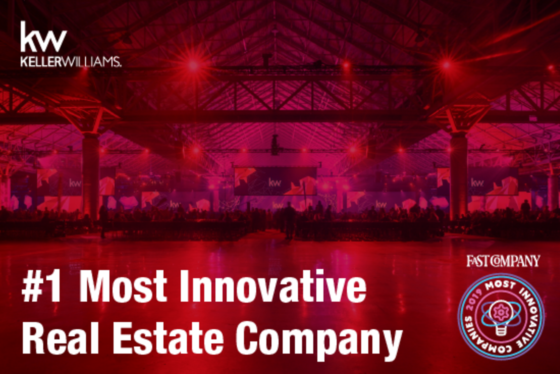 Keller Williams- #1 World's Most Innovative Company Feb 2019