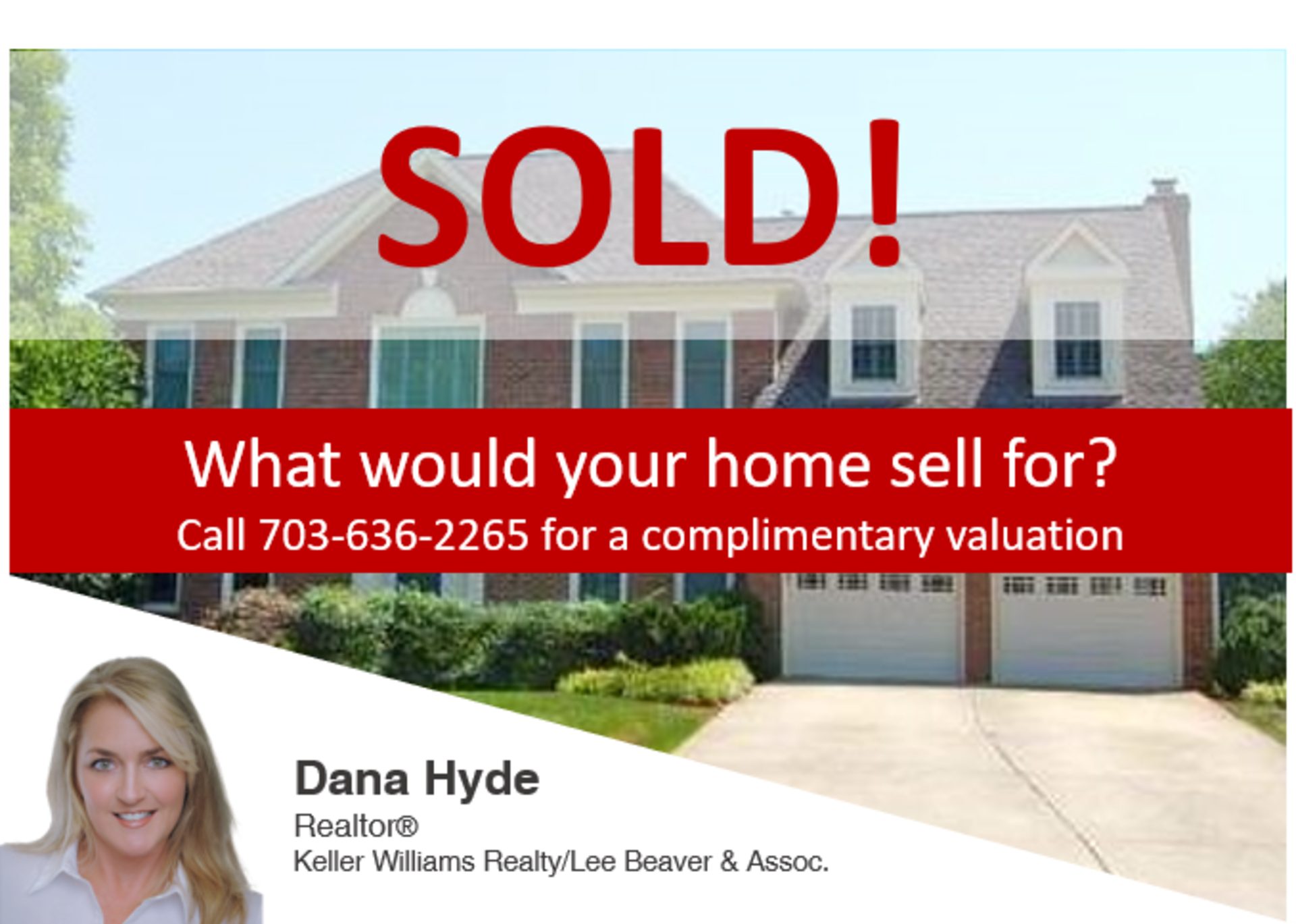 SOLD! What's YOUR home worth?