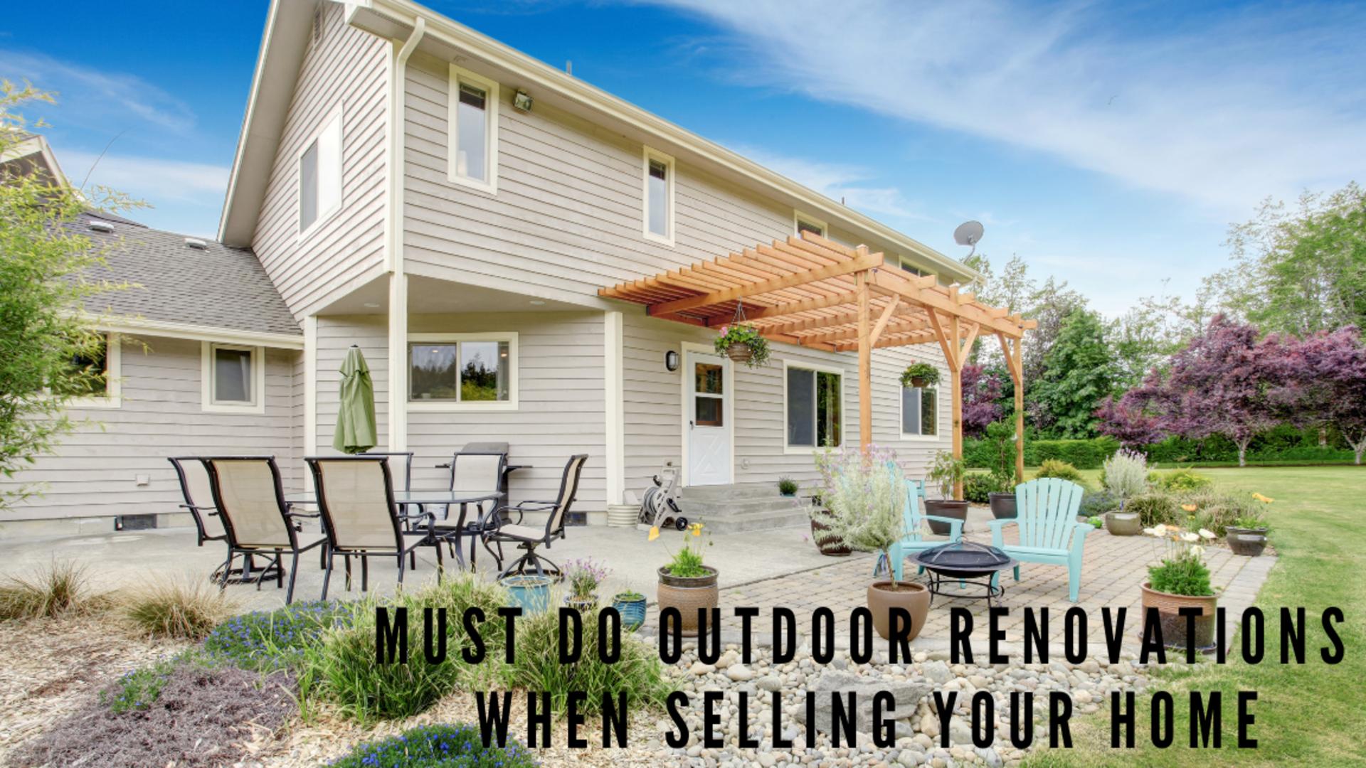 2018 Hottest Outdoor Renovations