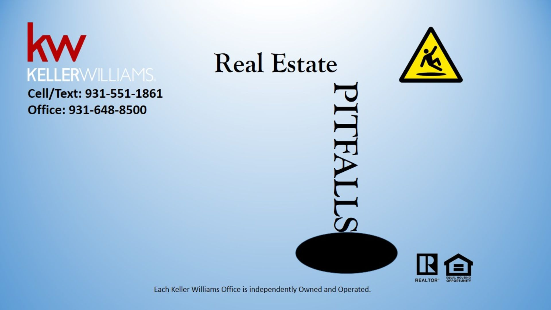 Real Estate Pitfalls