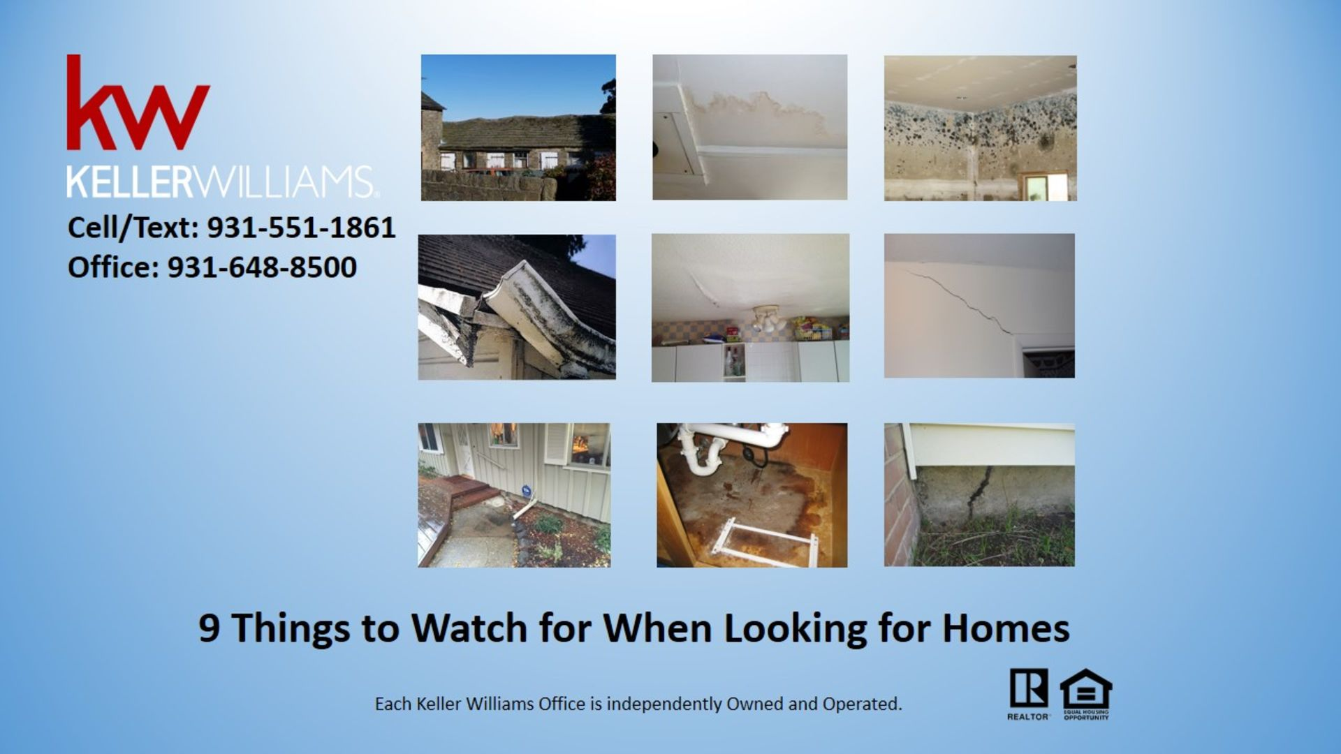 9 Things to Watch for When Looking for Homes