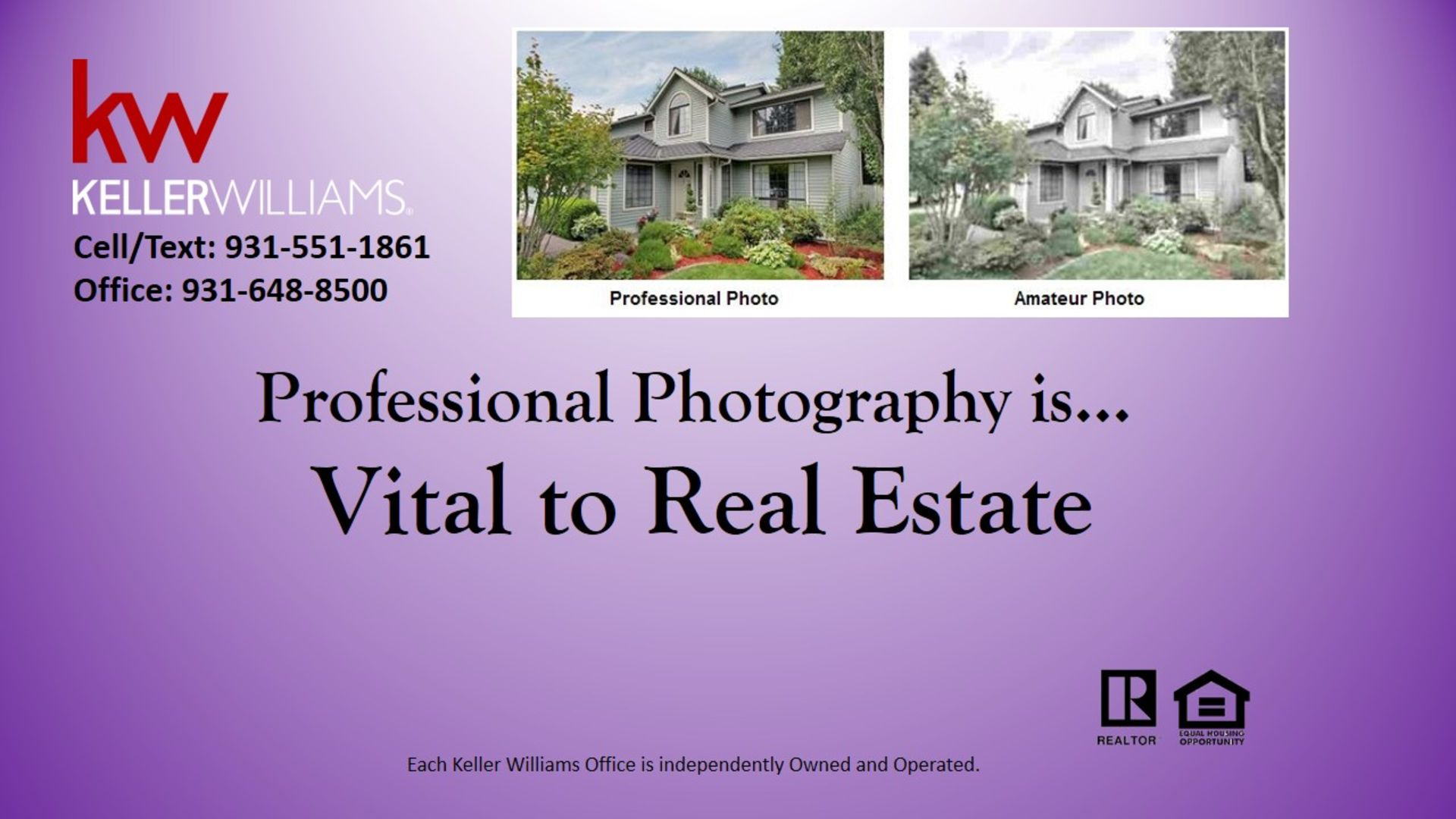 Professional Photography is Vital to Real Estate